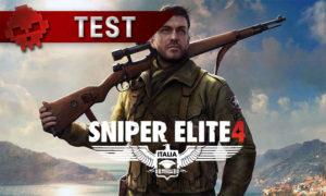 Test Sniper Elite 4 Karl Furbaine