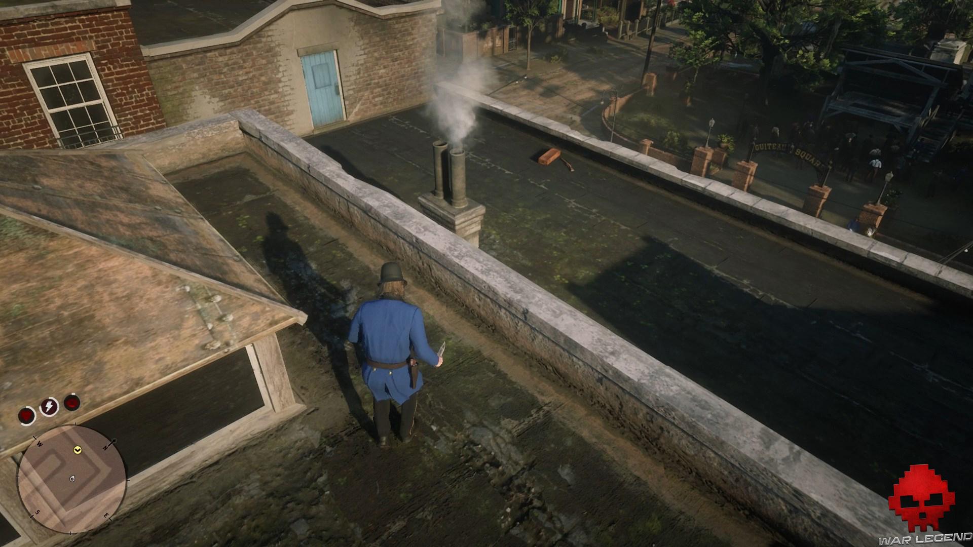 soluce red dead redemption 2 adieu fidèle ami sniper sur les toits
