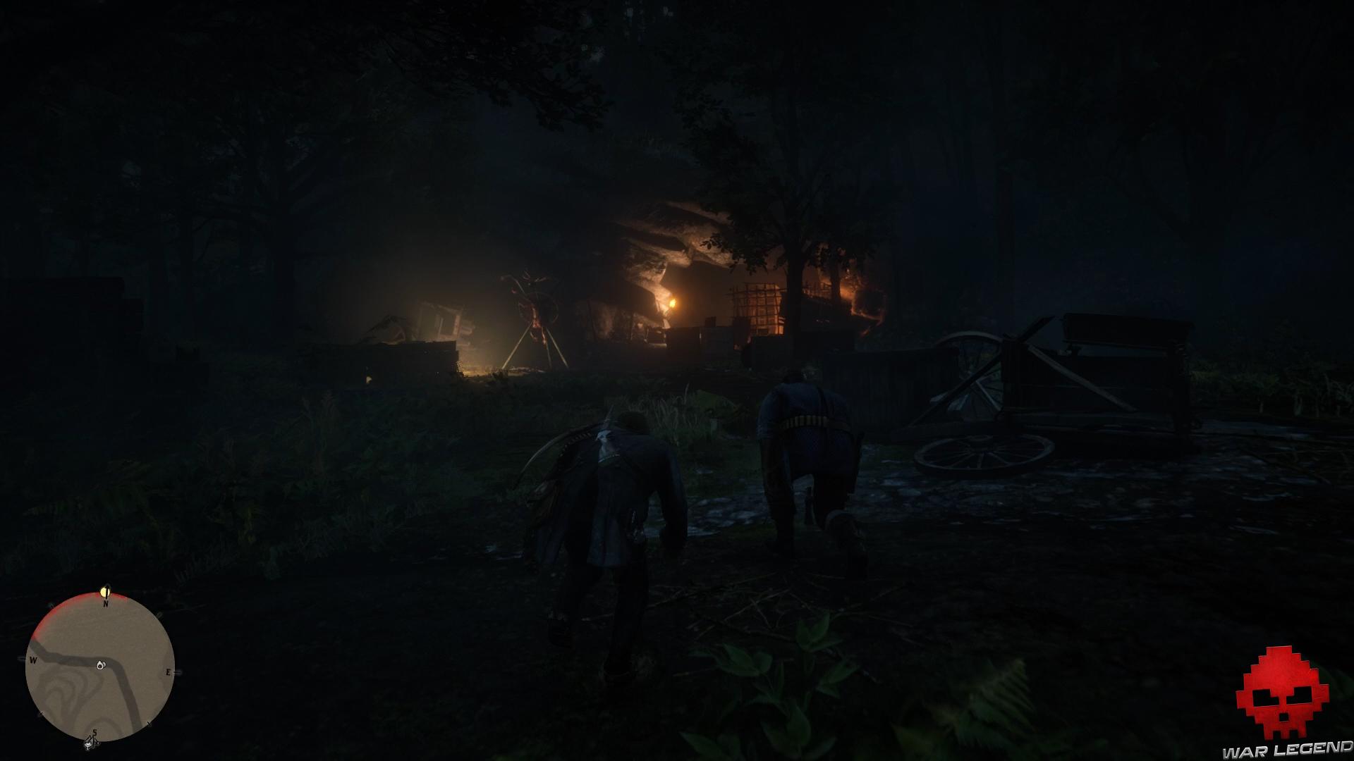 soluce red dead redemption 2 en territoire murfree grotte des murfree