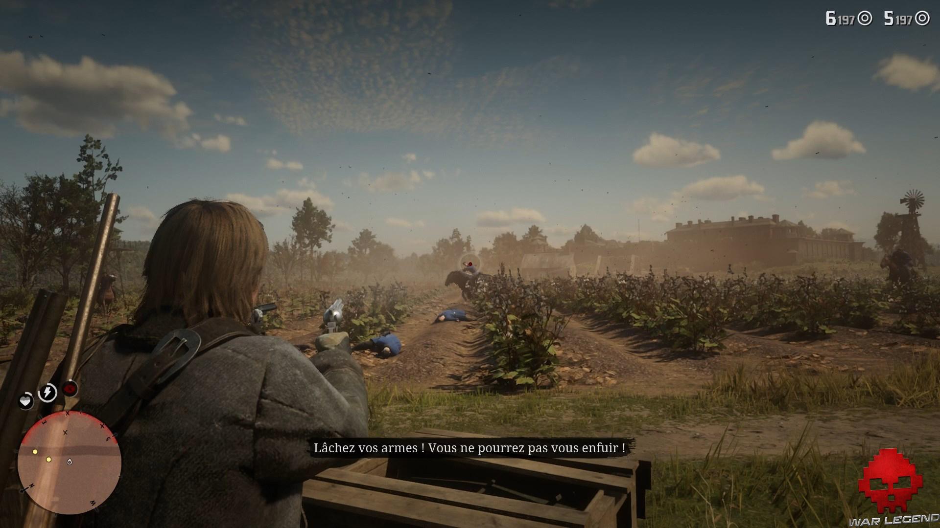 soluce red dead redemption 2 heures de visite tirs dans les champs