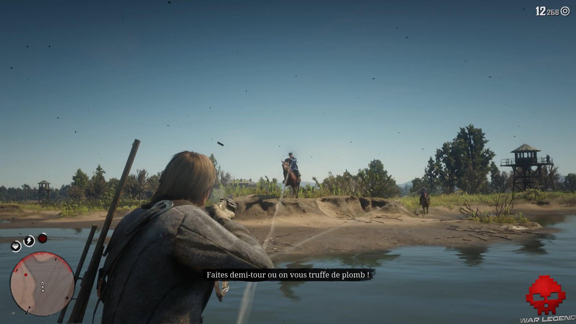 soluce red dead redemption 2 heures de visite tir depuis barque