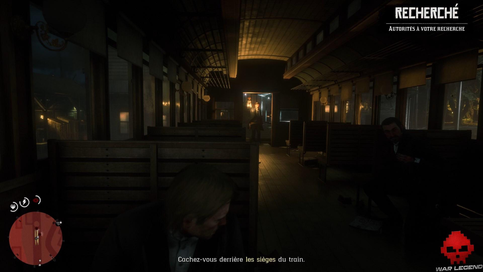 soluce red dead redemption 2 la banque cet ancien art américain garde à l'entrée d'un train