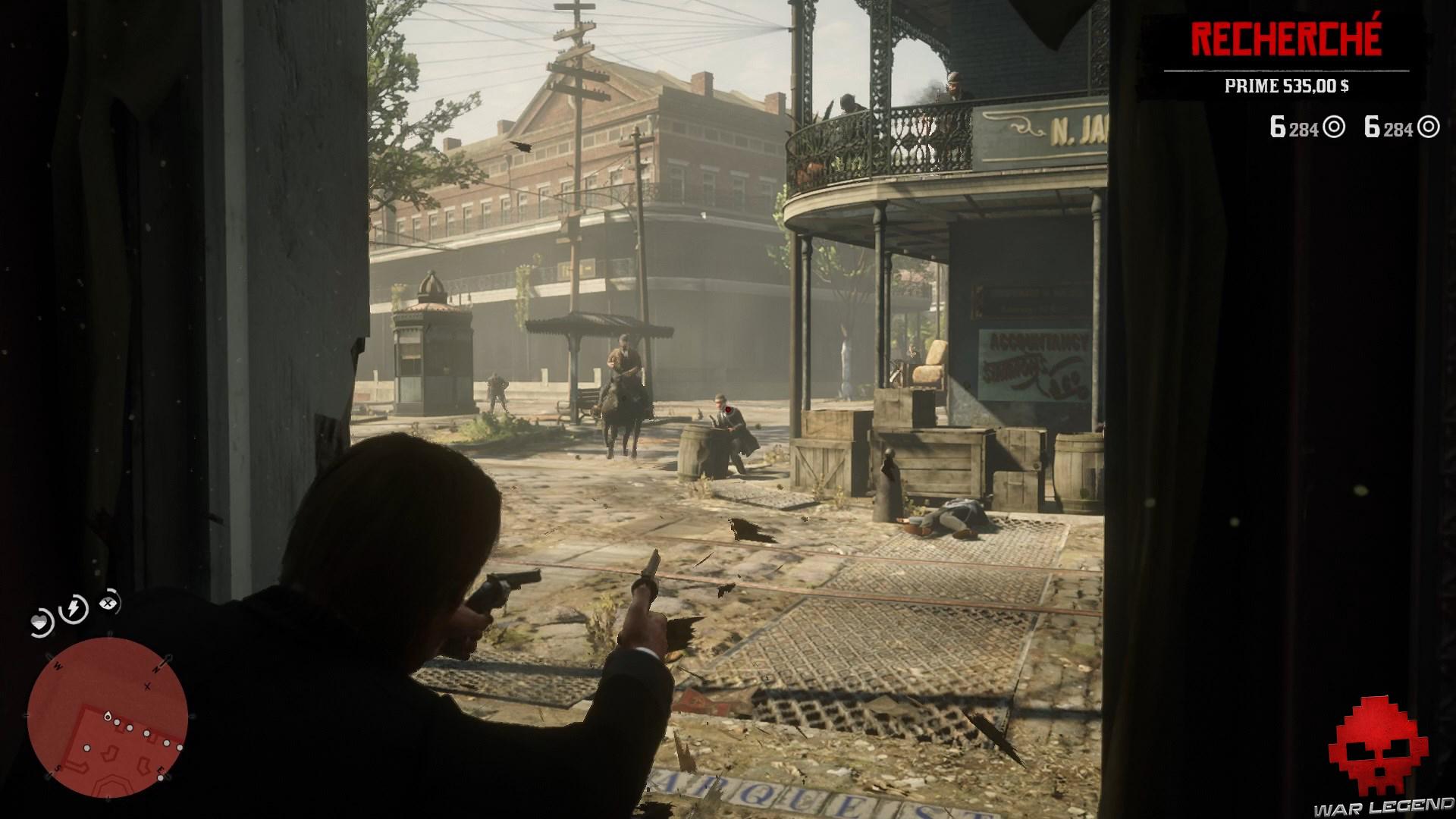 soluce red dead redemption 2 la banque cet ancien art américain arthur tir sur les ennemis par la fenêtre