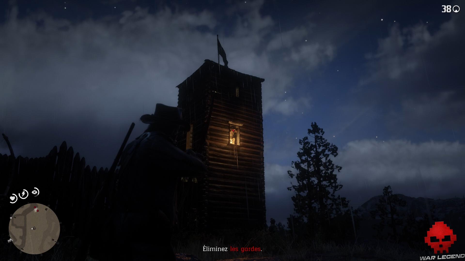 soluce red dead redemption 2 le fils du roi garde dans une tour