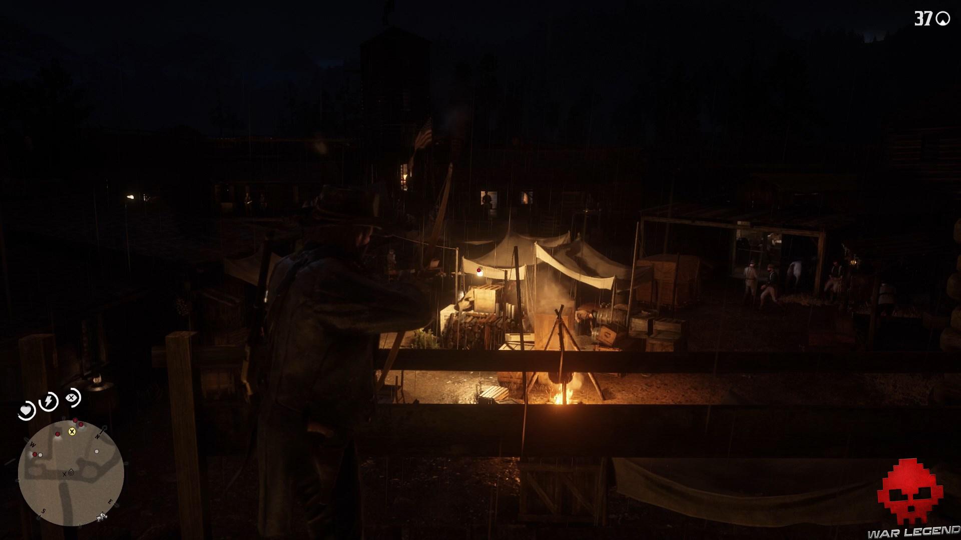 soluce red dead redemption 2 le fils du roi tir sur une lanterne