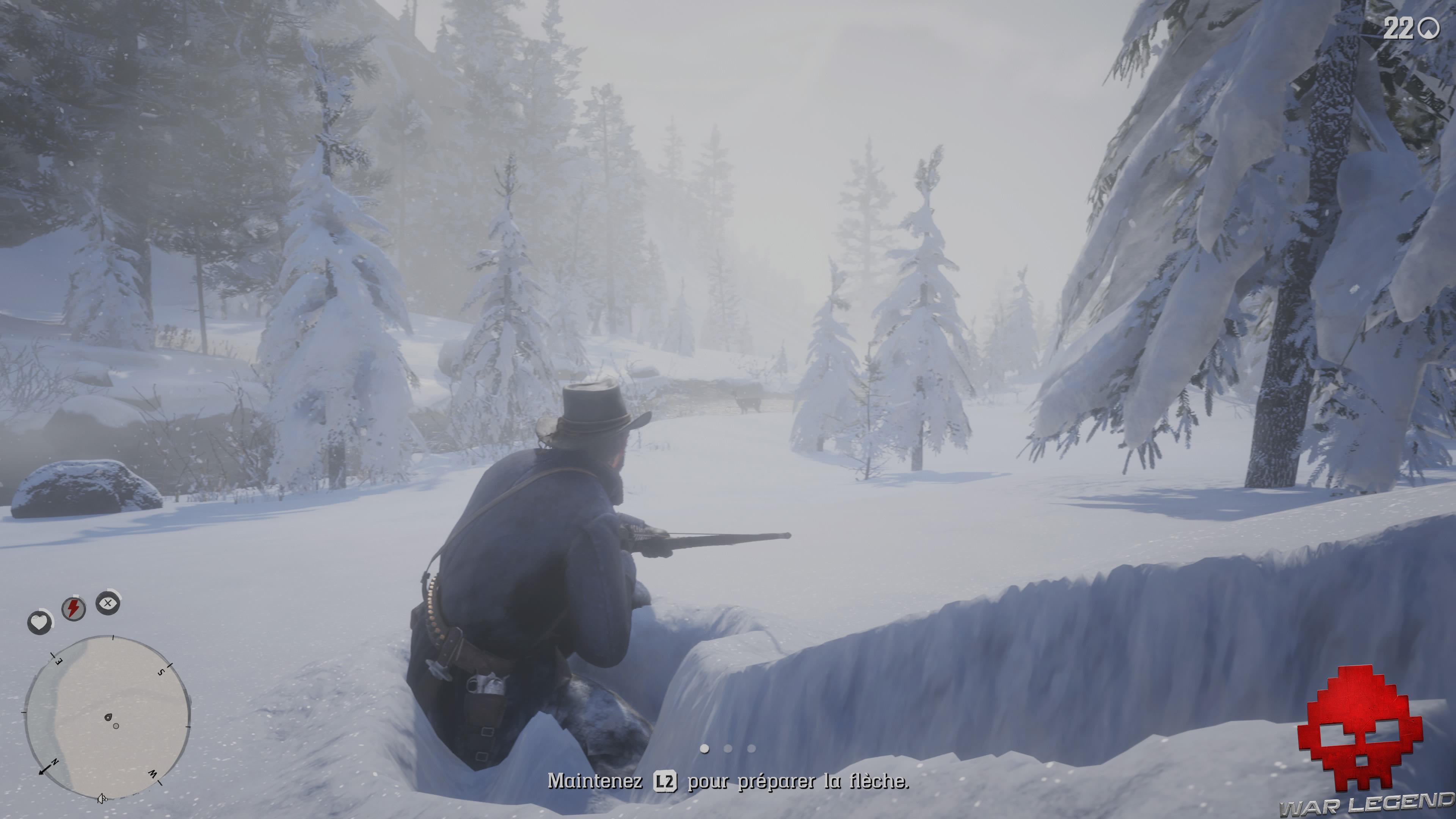 soluce red dead redemption 2 chasse à la biche