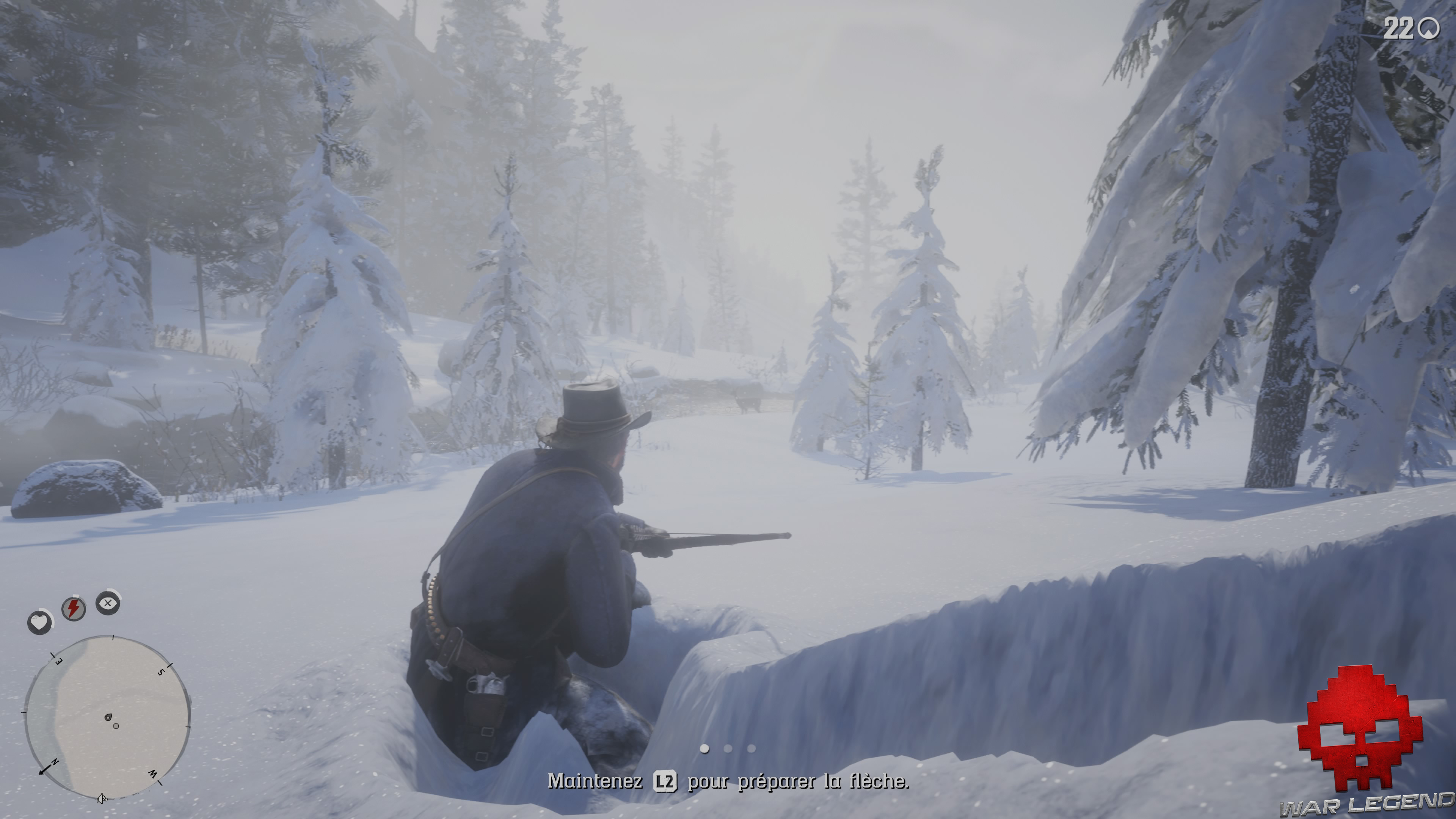 test red dead redemption 2 chasse à la biche
