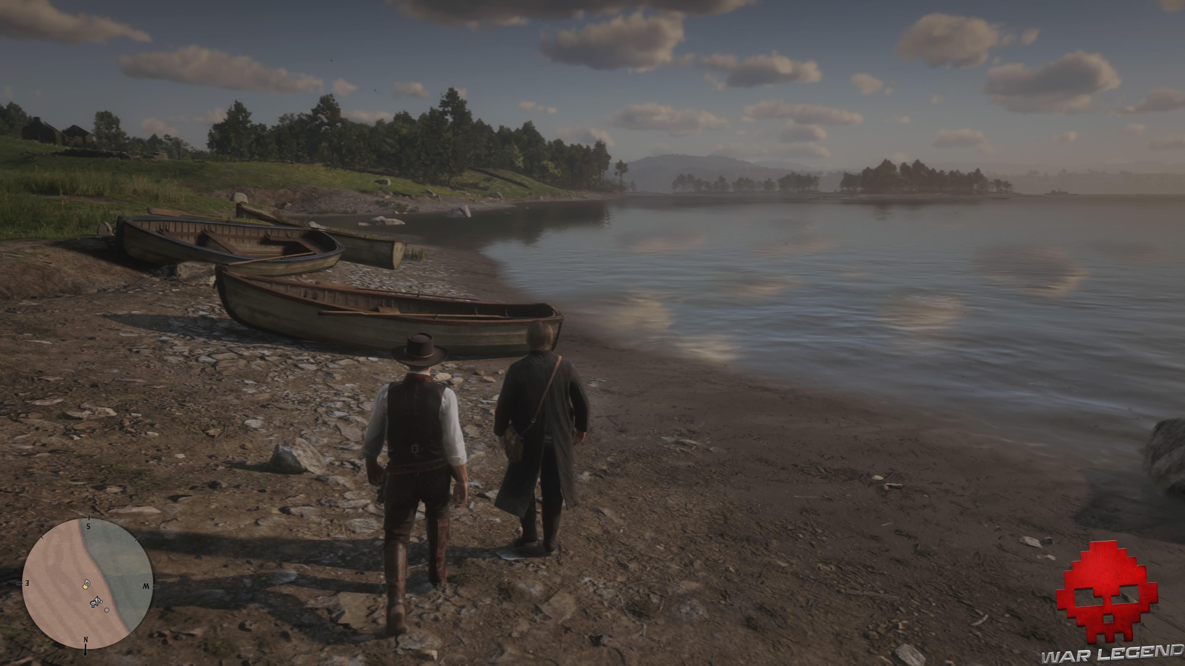 soluce red dead redemption 2 le sud nouveau barque au bord de l'eau