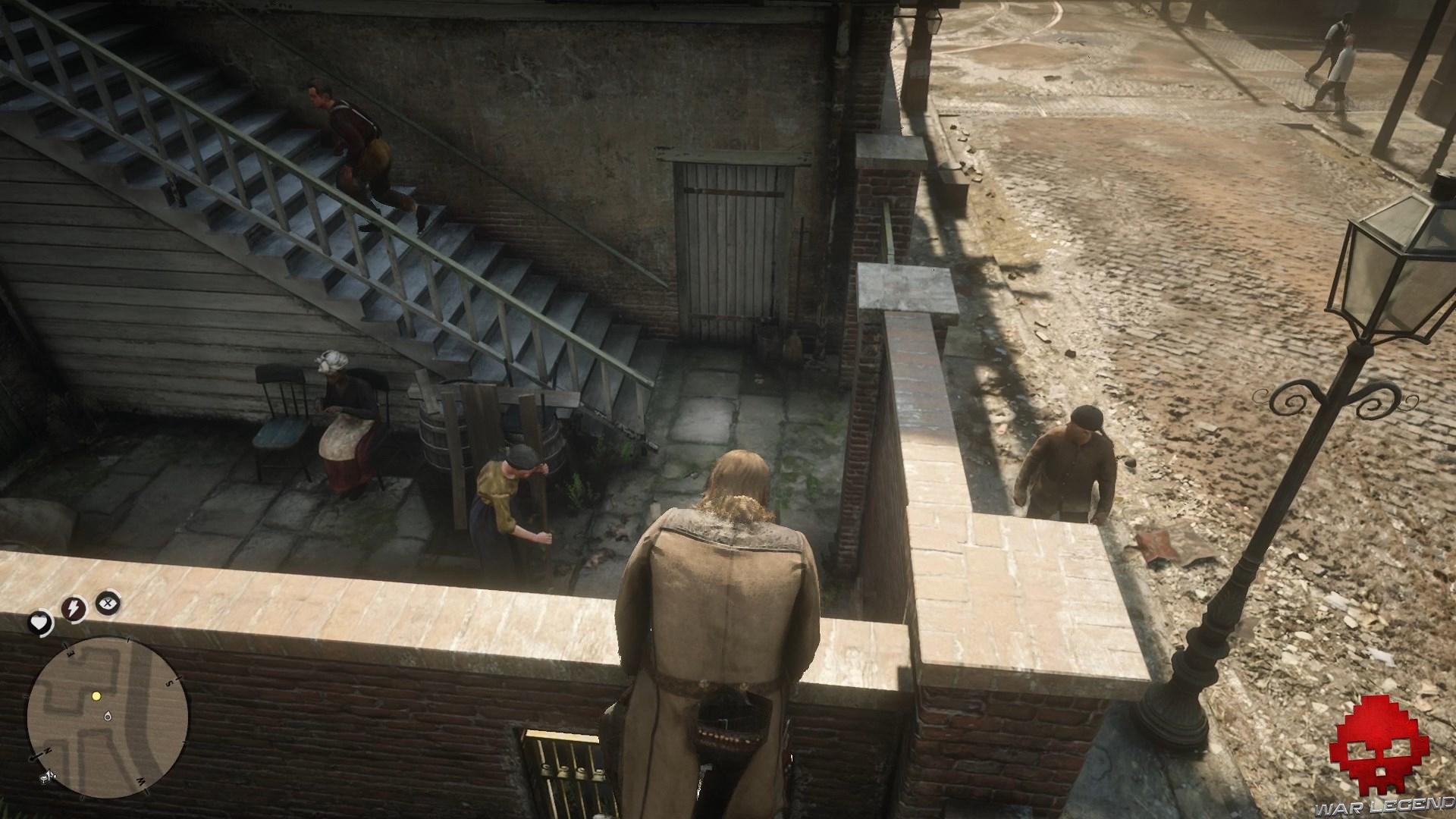 soluce red dead redemption 2 les joies de la civilisation arthur escalade un mur