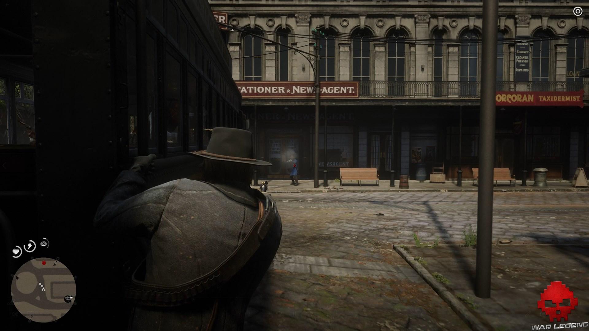 soluce red dead redemption 2 les plaisirs de la ville tir sur un policier depuis le tramway
