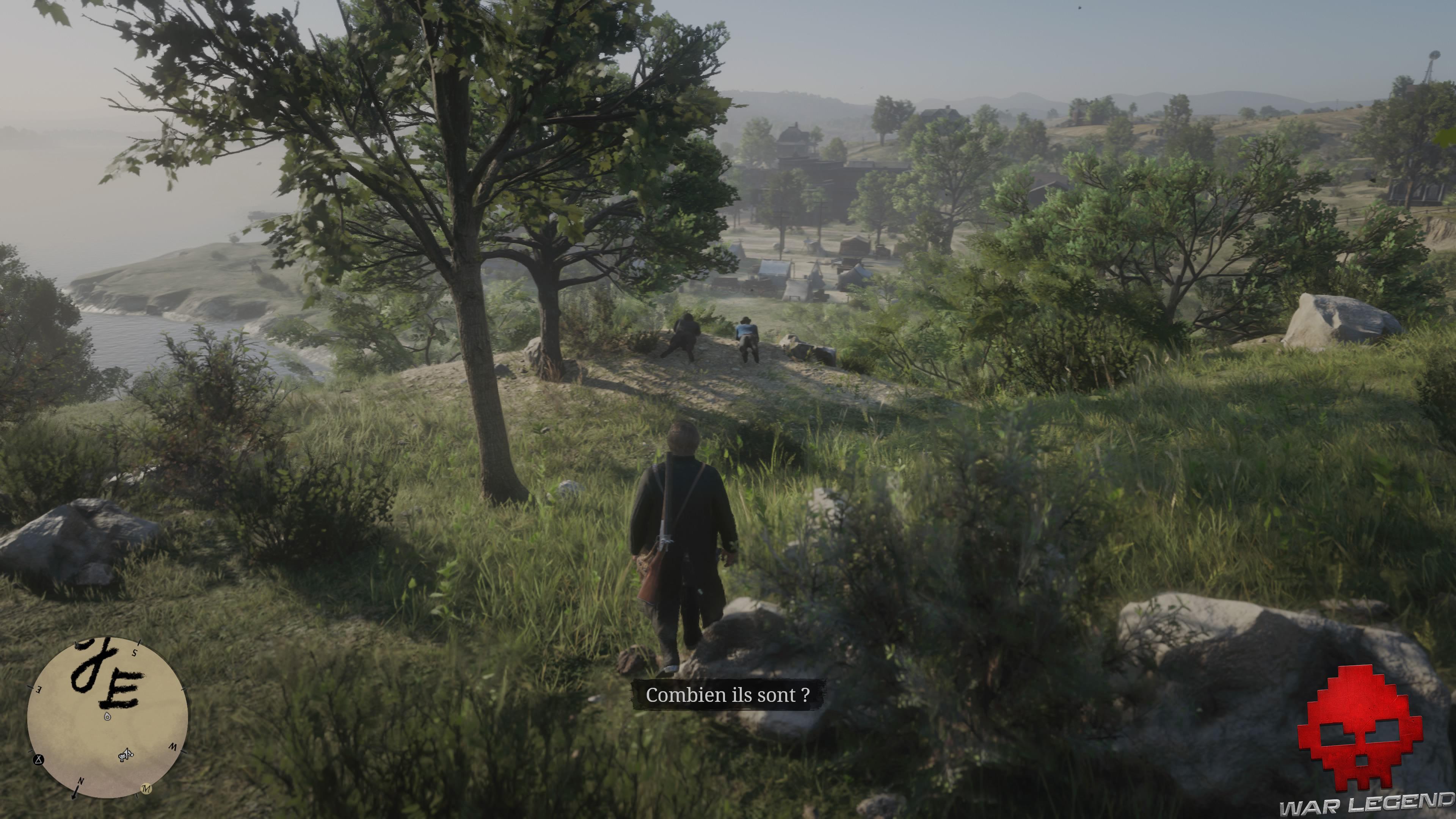 Soluce Red Dead Redemption 2 les premiers seront les derniers deux hommes allongés