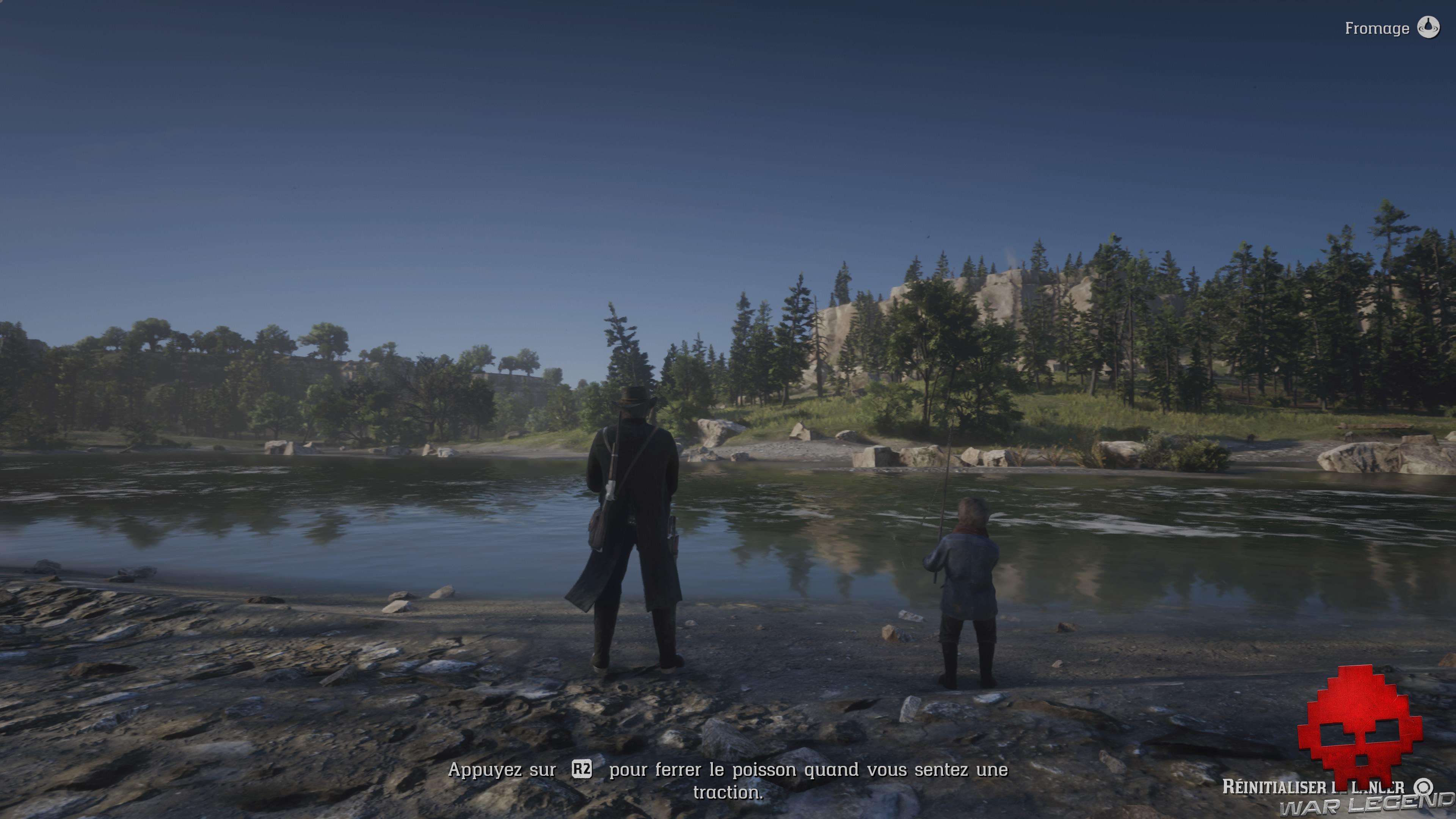 Soluce red dead redemption 2 pêcheur d'homme jack et arthur pêchent