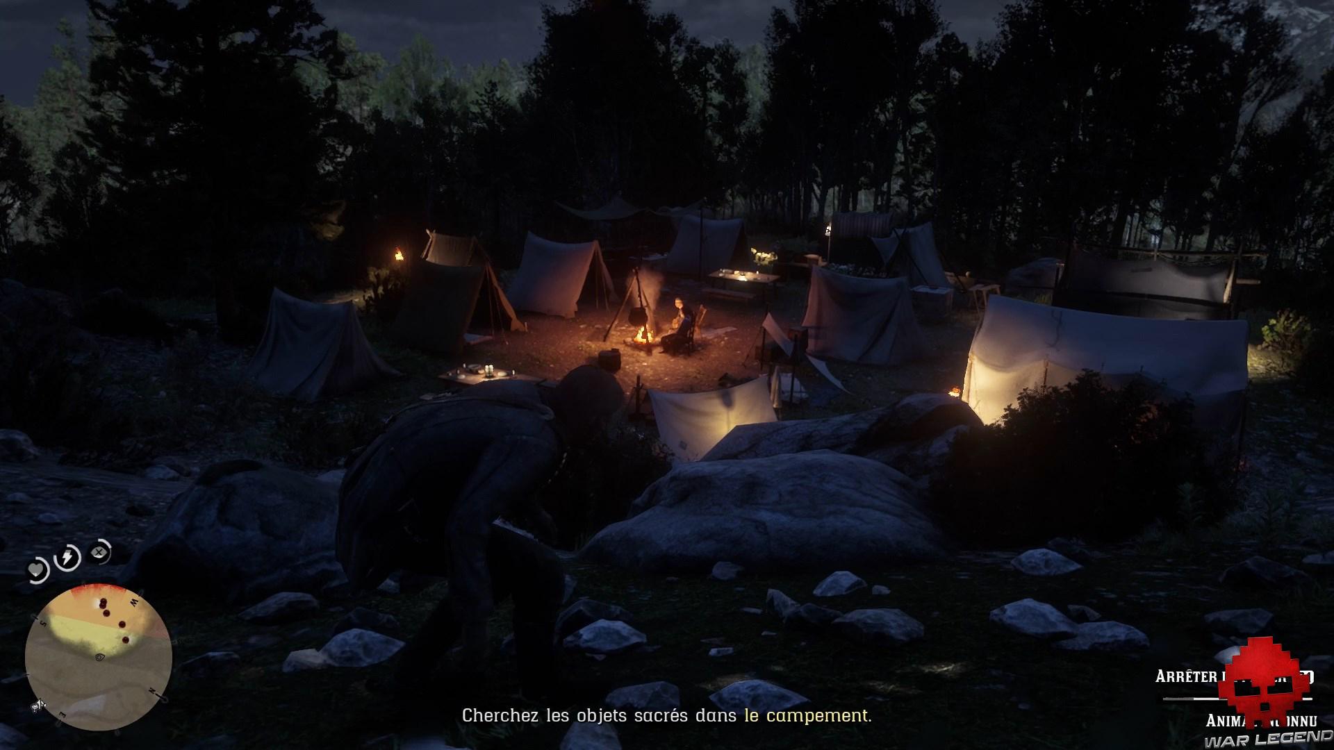 soluce red dead redemption 2 petit guide de l'archéologue en herbe camp de l'armée