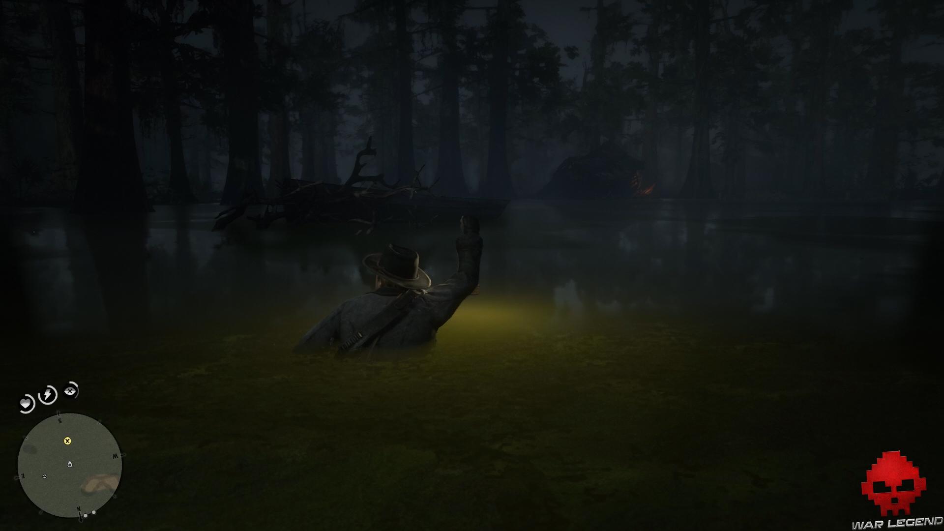 soluce red dead redemption 2 promenade dans le bayou bateau bloqué