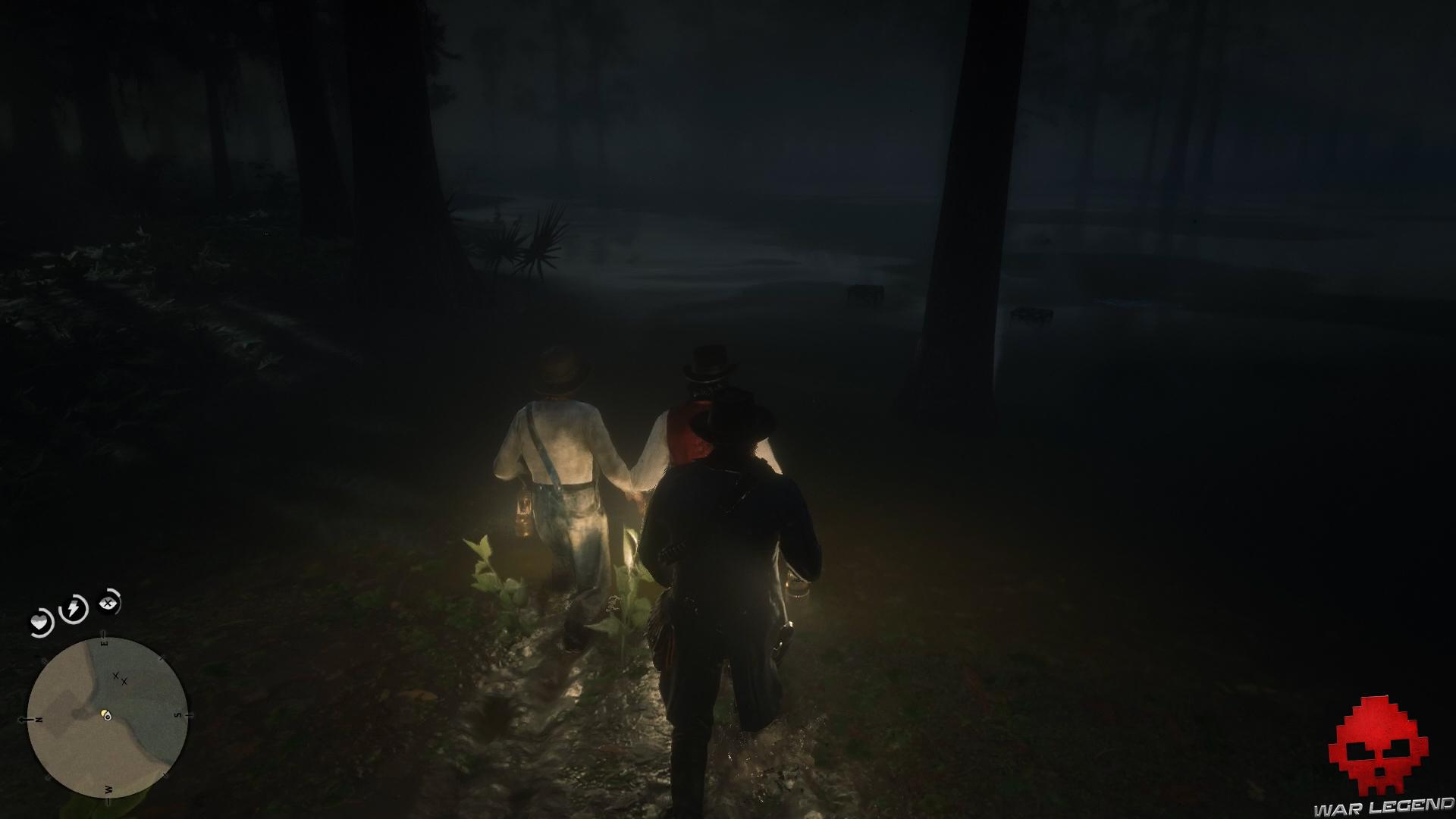 soluce red dead redemption 2 promenade dans le bayou pièges à écrevisse