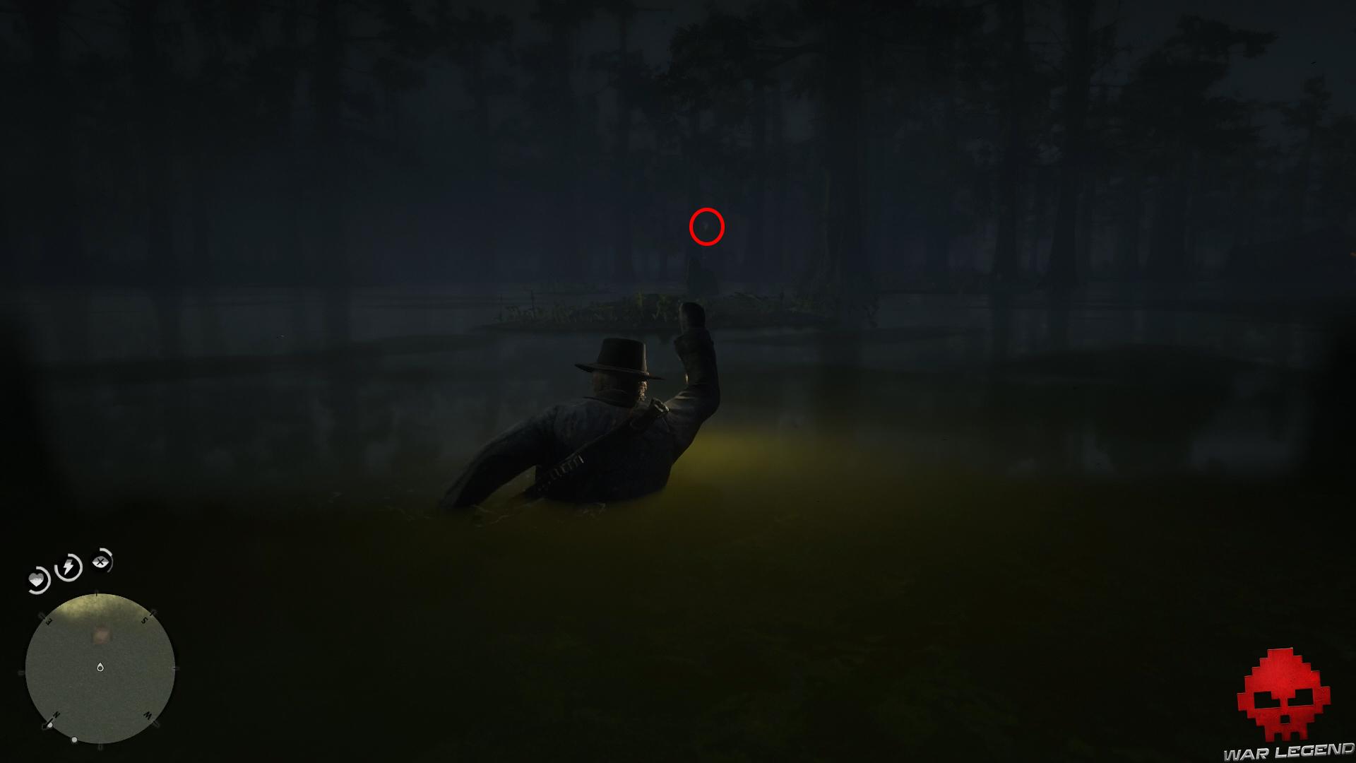 soluce red dead redemption 2 promenade dans le bayou lumière de lanterne dans l'air