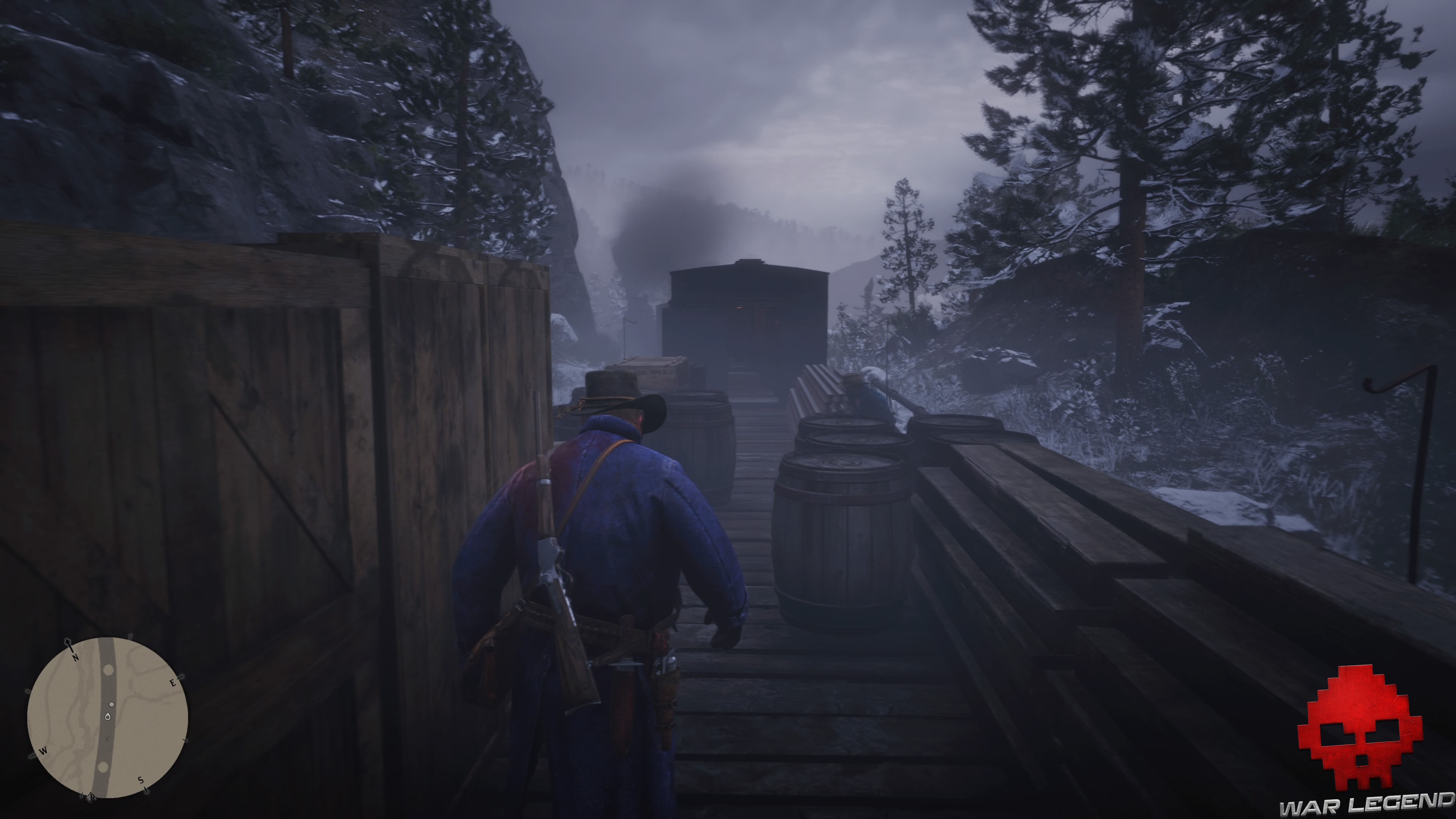 soluce red dead redemption 2 arthur se faufile dans un train