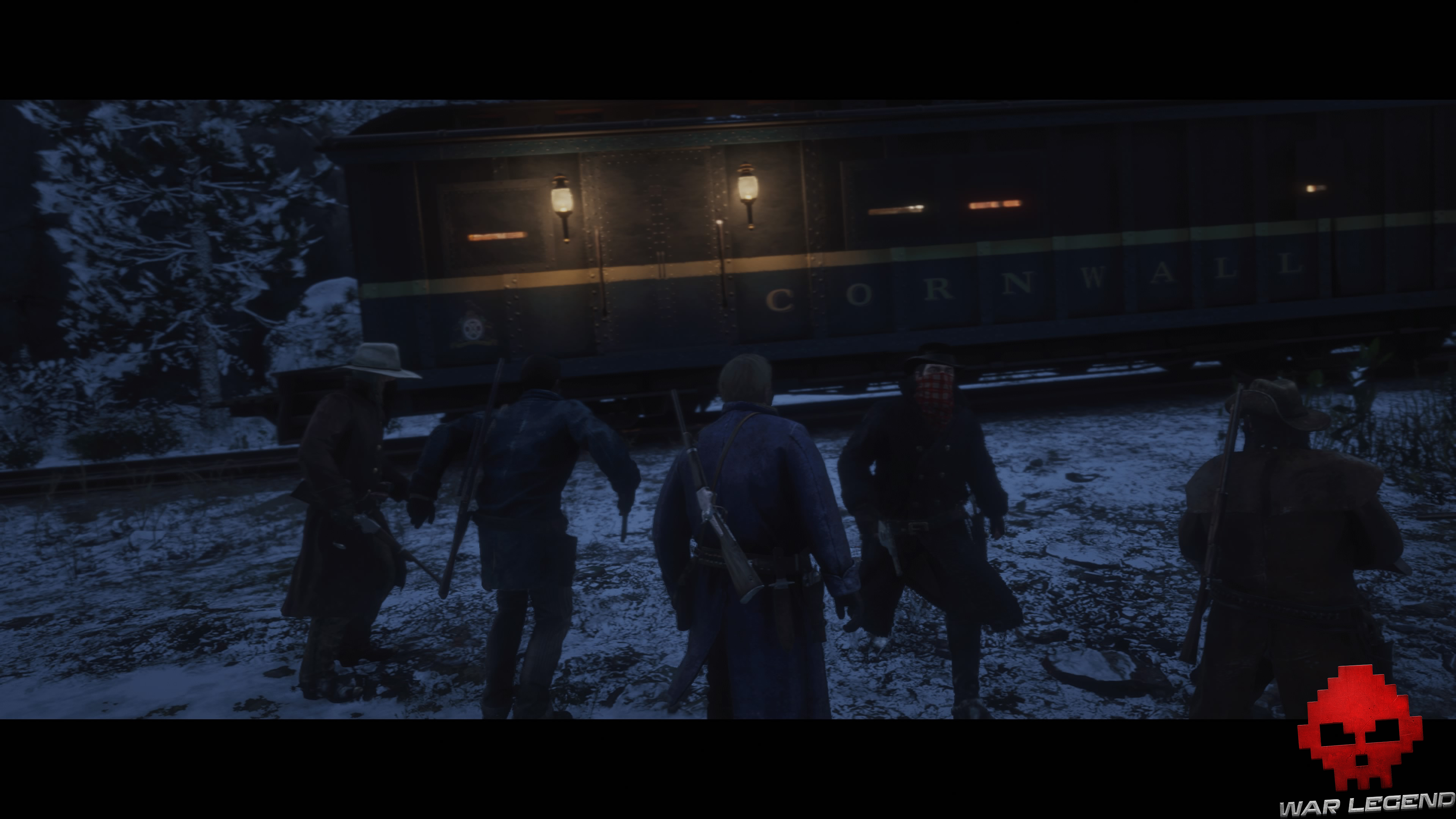 soluce red dead redemption 2 wagon blindé