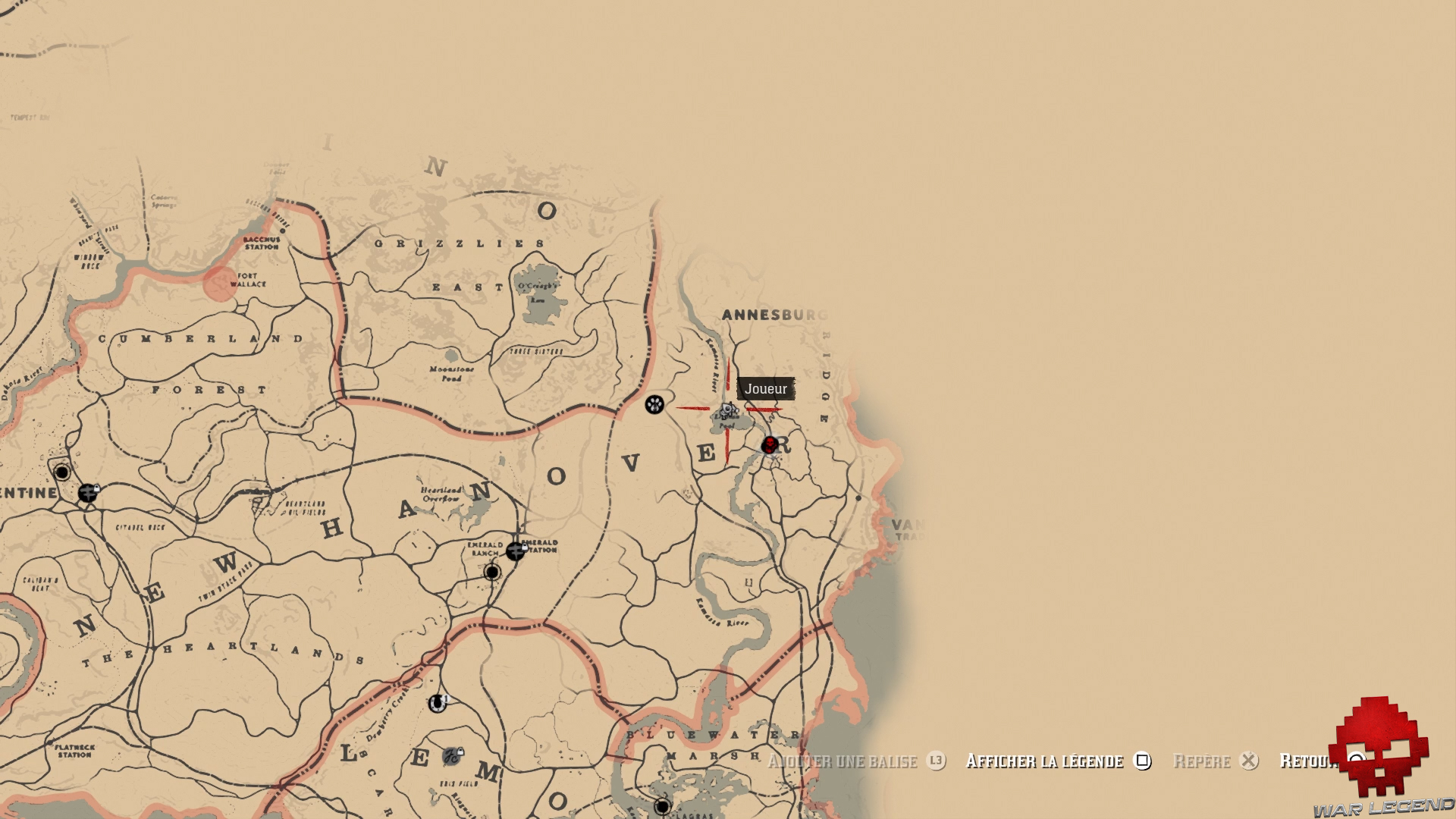 carte de la piste empoisonnée Soluce Red Dead Redemption 2   Le trésor de la piste empoisonnée