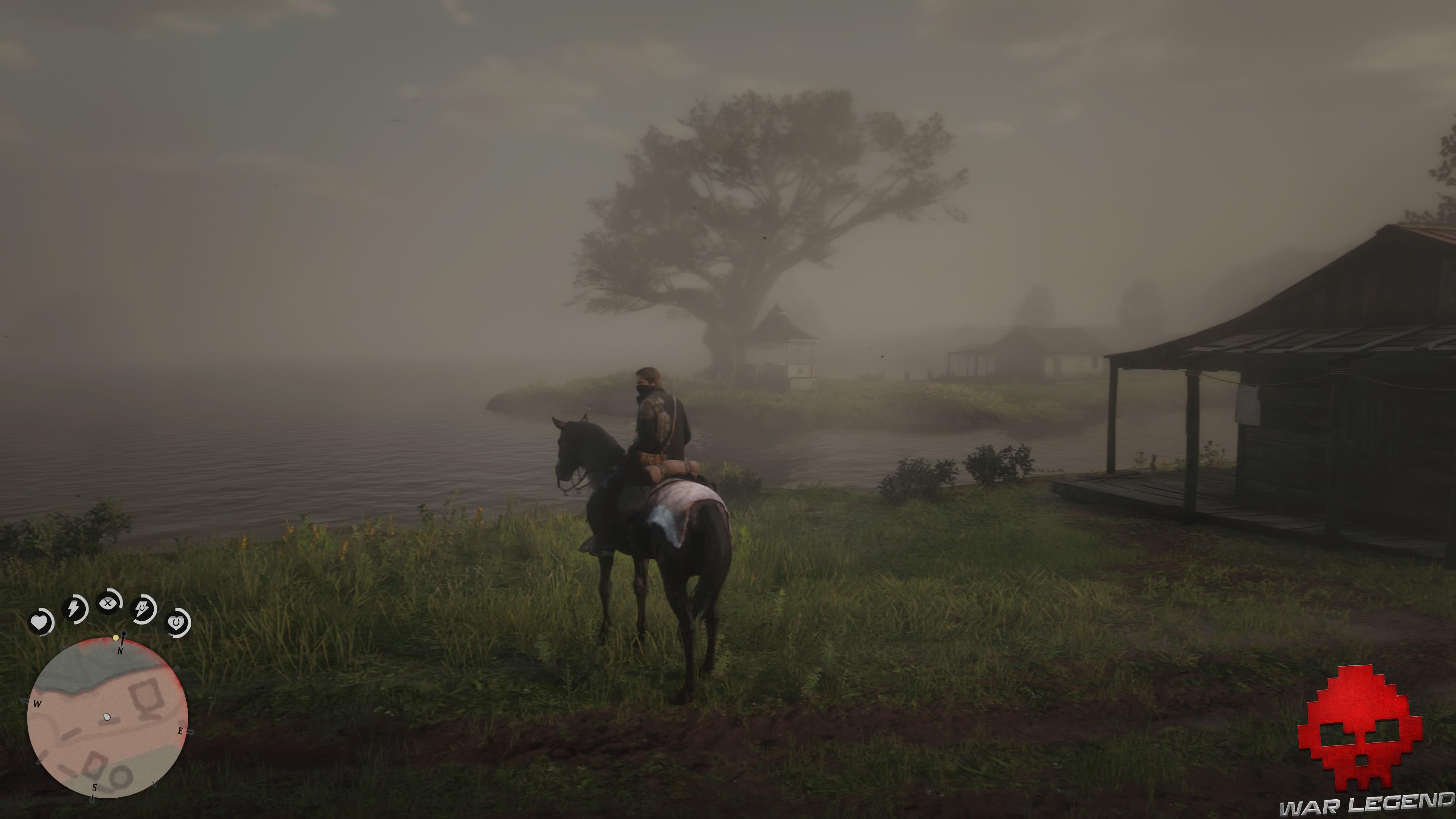 soluce red dead redemption 2 un amour sincère cheval au bord de l'eau