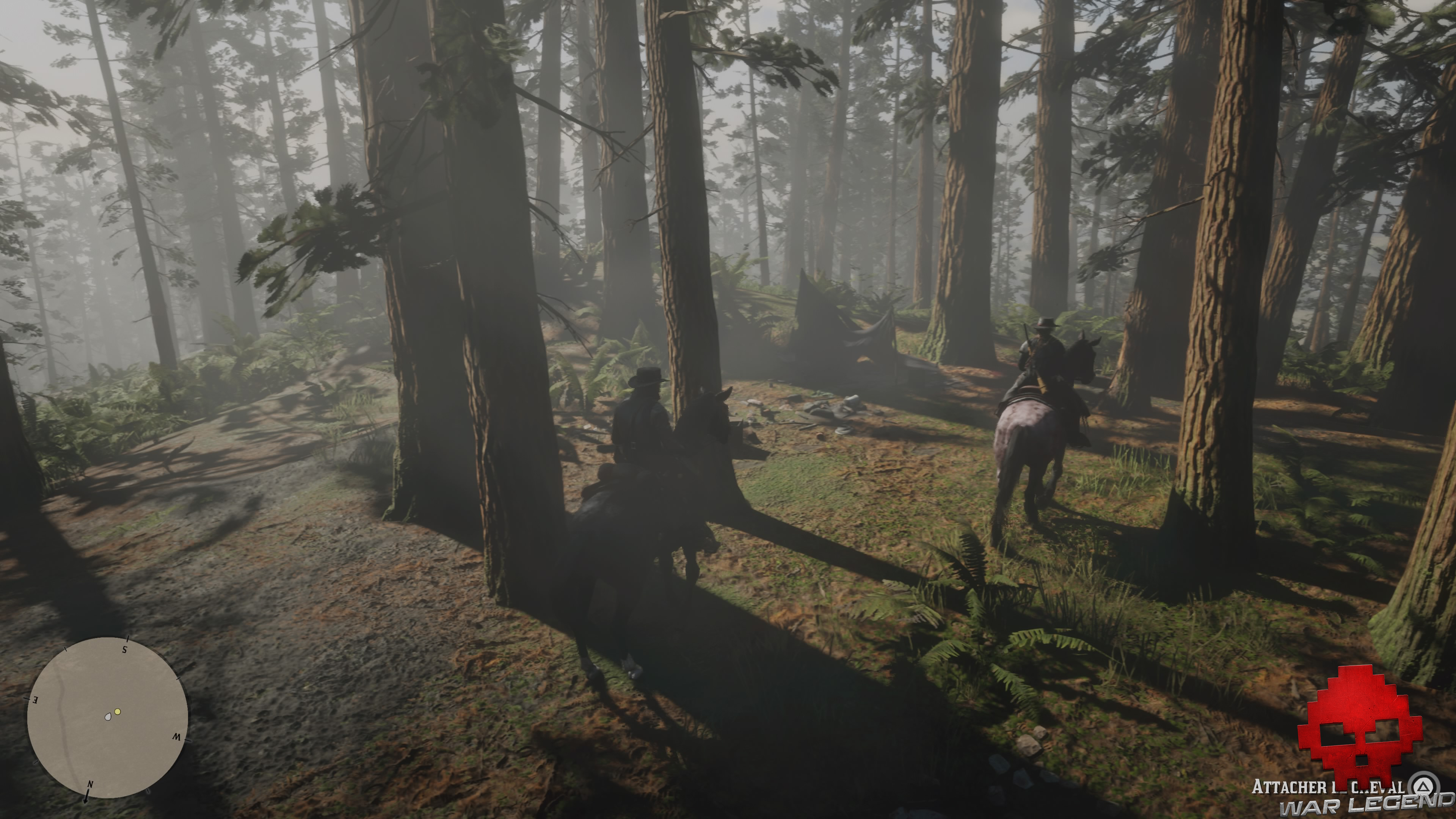 soluce red dead redemption 2 un ours mal léché campement dévasté en foret
