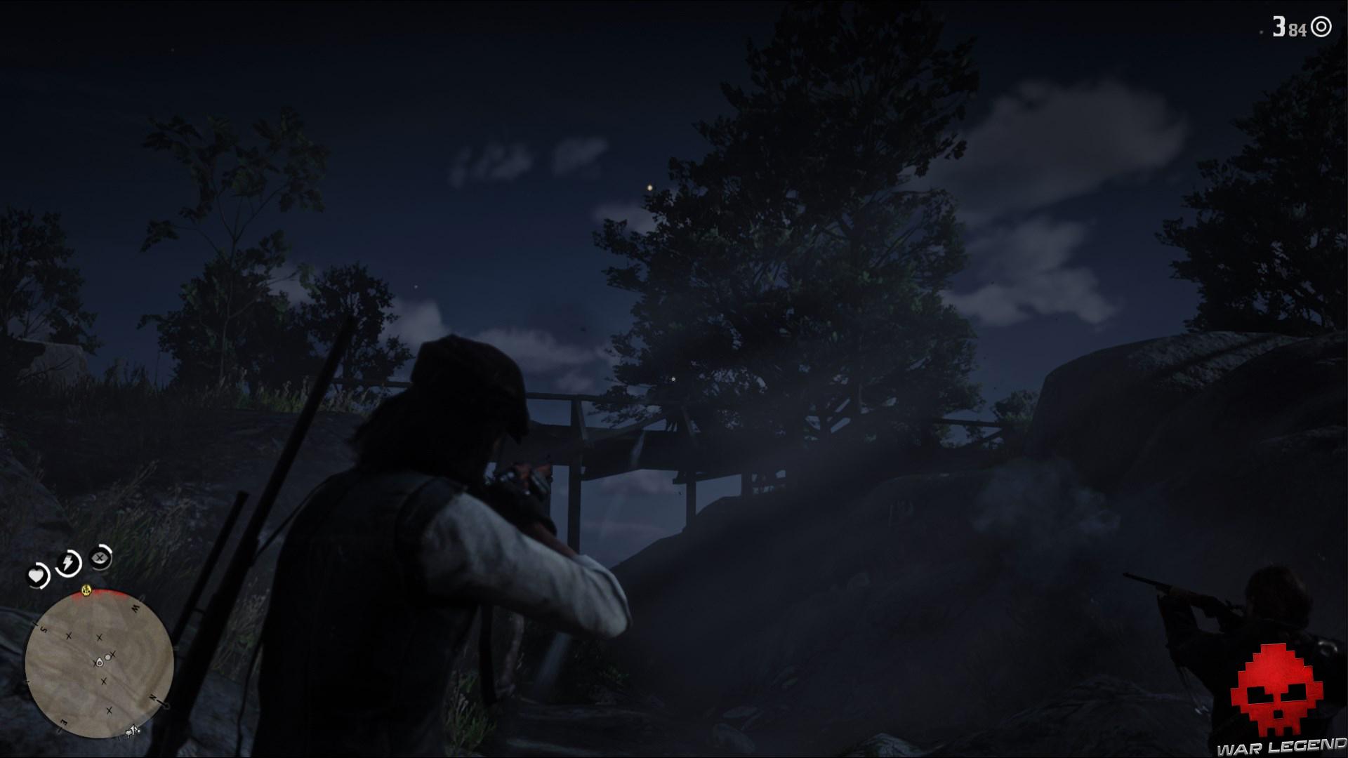 soluce red dead redemption 2 un petit service pour une vieille connaissance cavaliers sur un pont