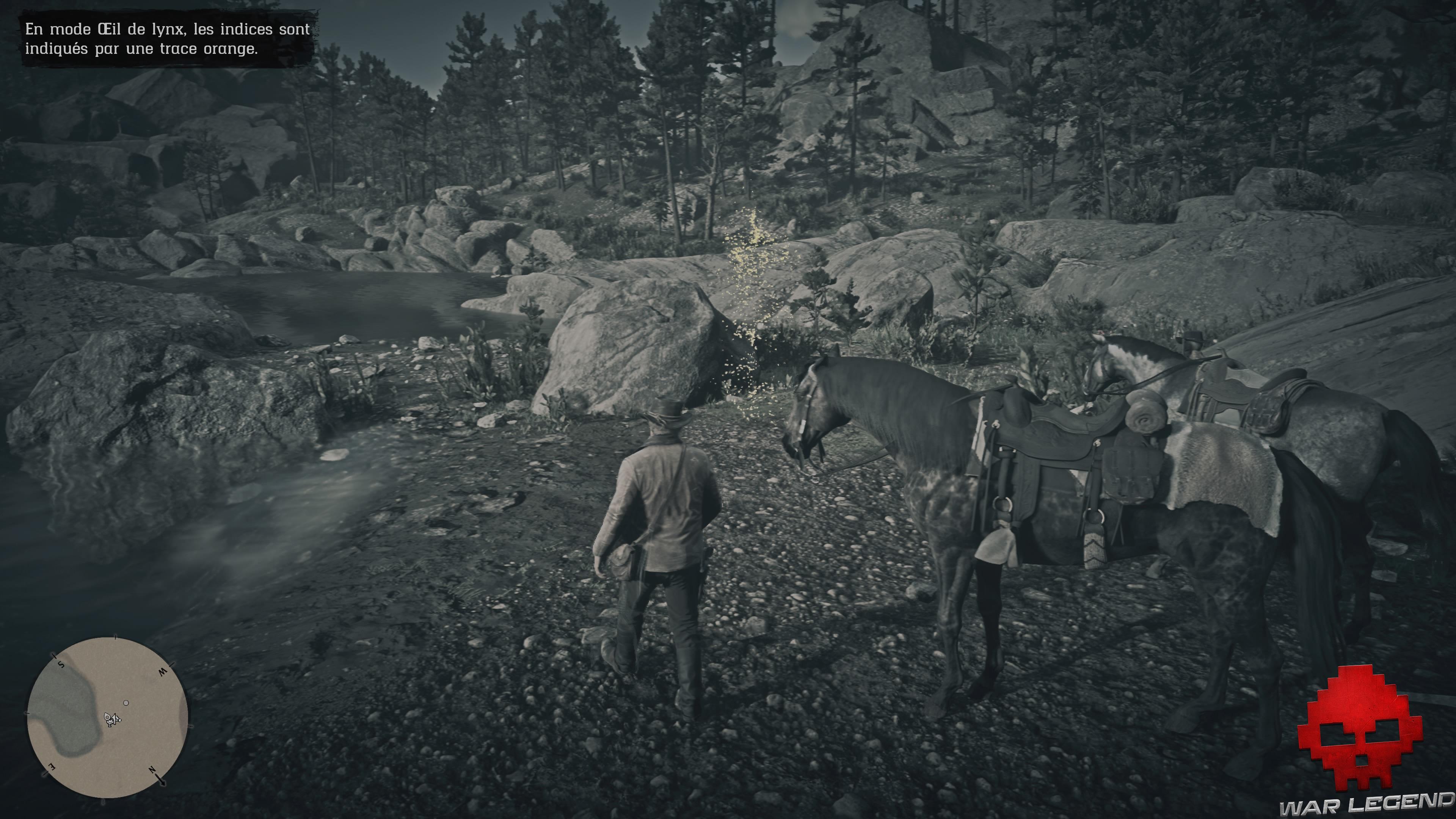 soluce red dead redemption 2 une blessure d'amour-propre piste ours près du lac