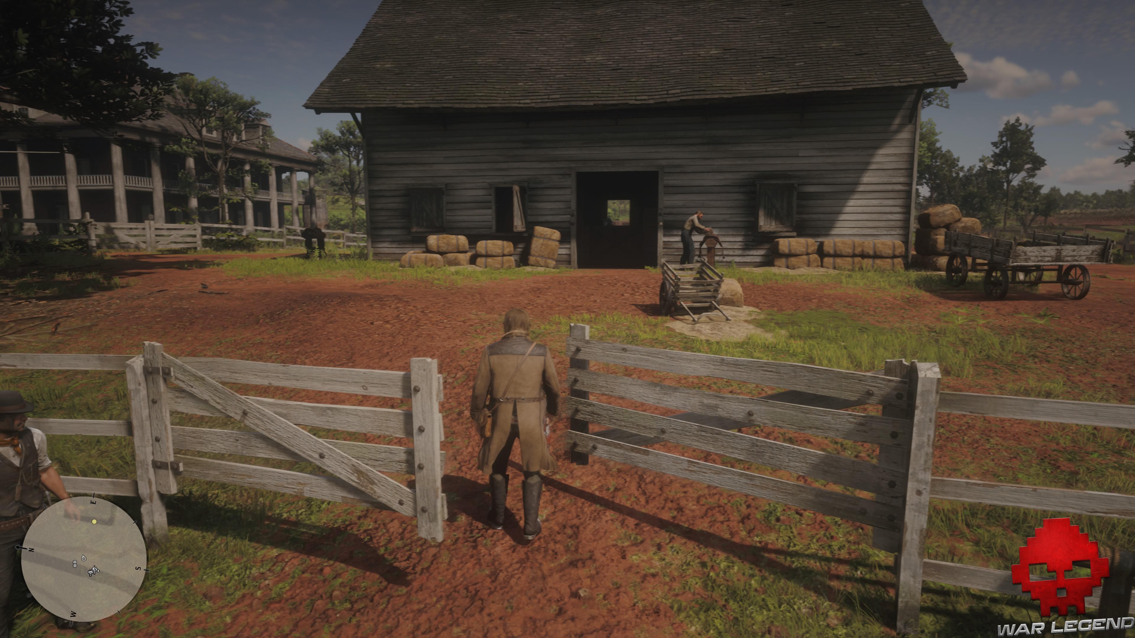 soluce red dead redemption 2 une faim de cheval arthur se dirige vers un palefrenier