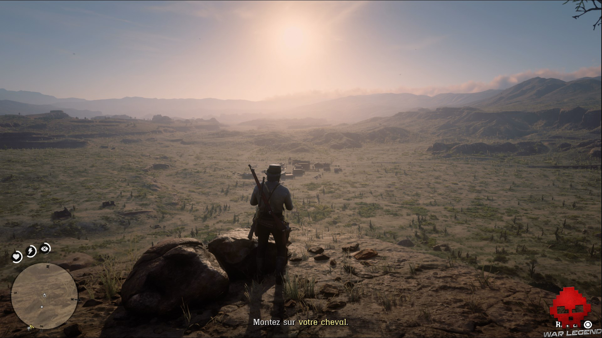 test red dead redemption 2 soleil couchant