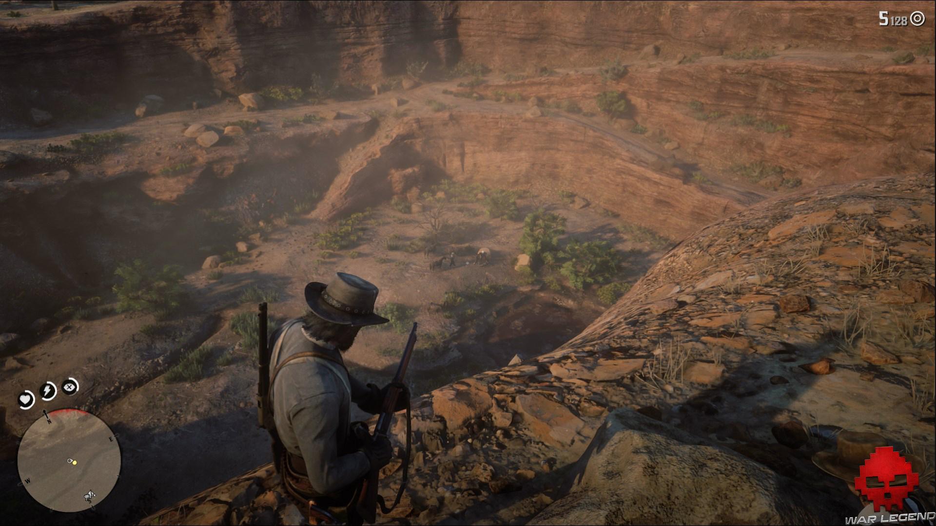 soluce red dead redemption 2 une honnête journée de travail ennemis dans un canyon