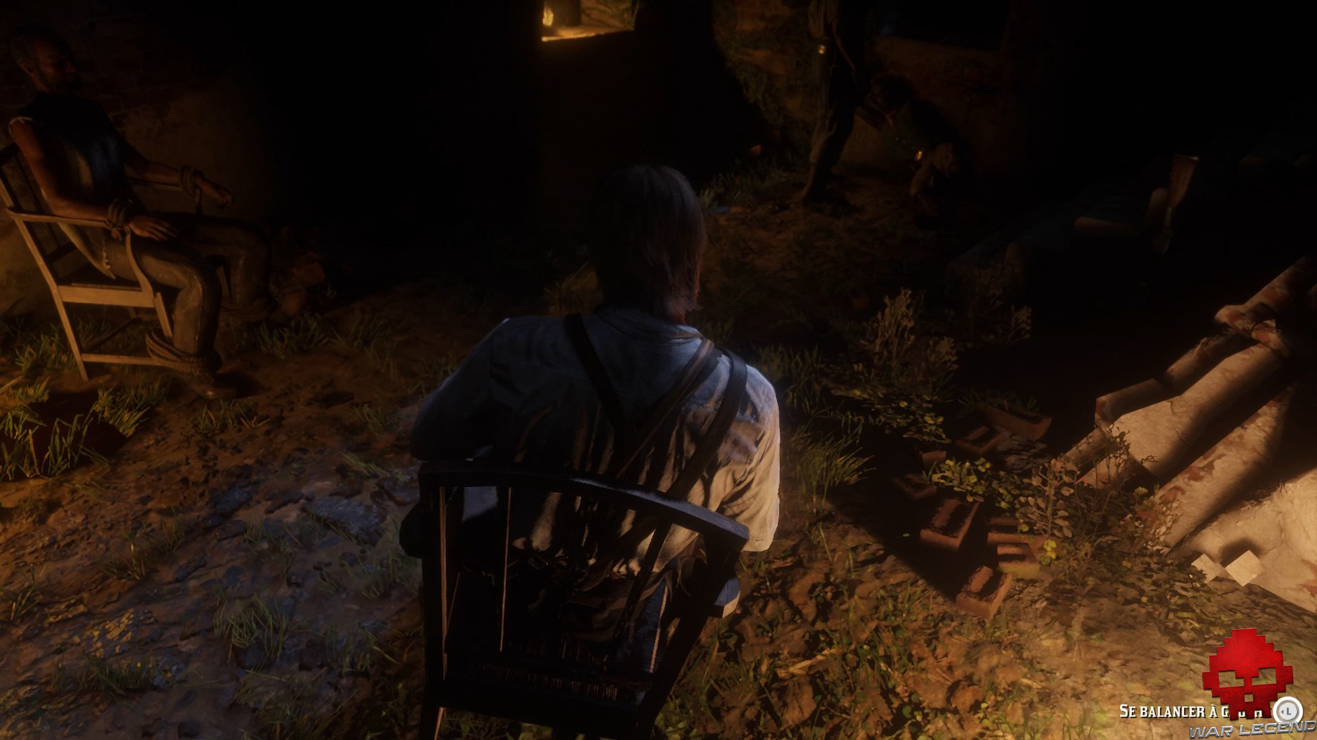 soluce red dead redemption 2 une sauvagerie sans limite arthur se balance sur sa chaise
