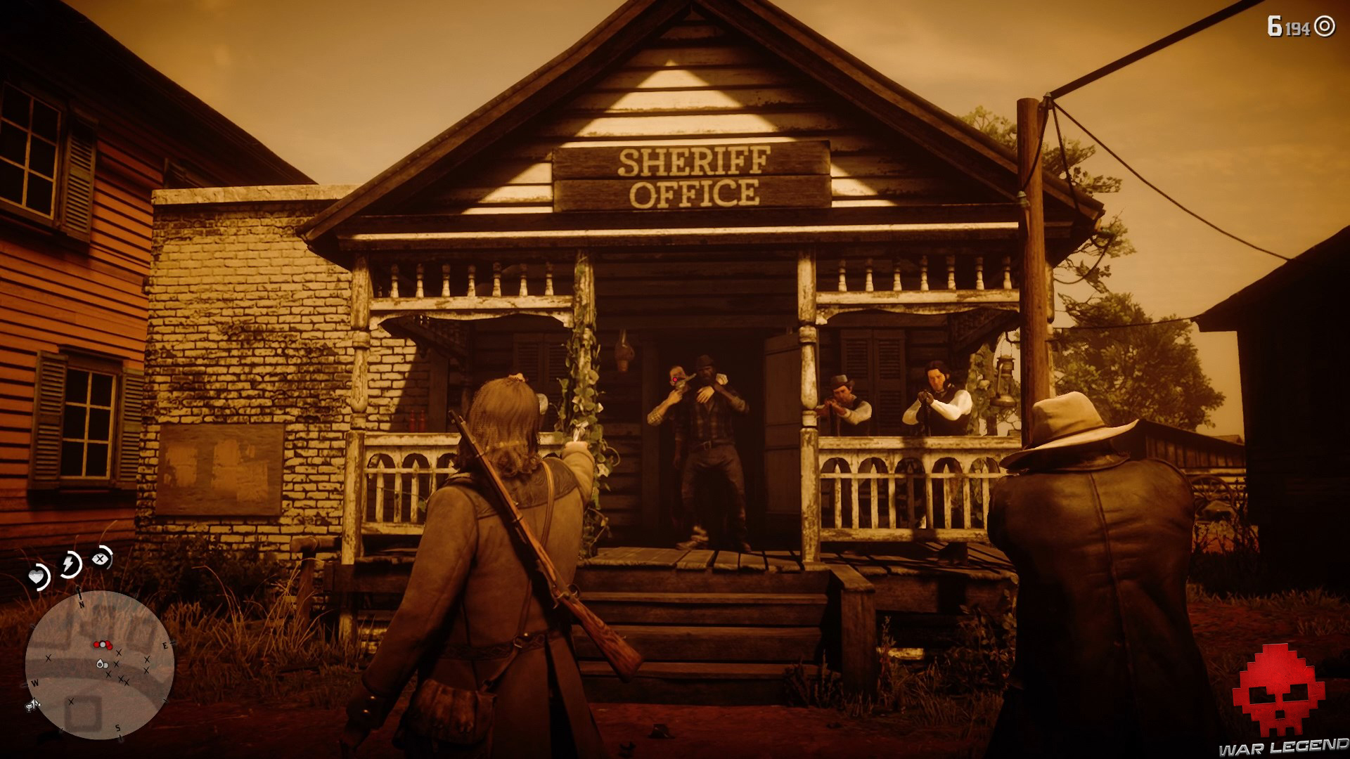 test red dead redemption 2 une ville pittoresque sang-froid
