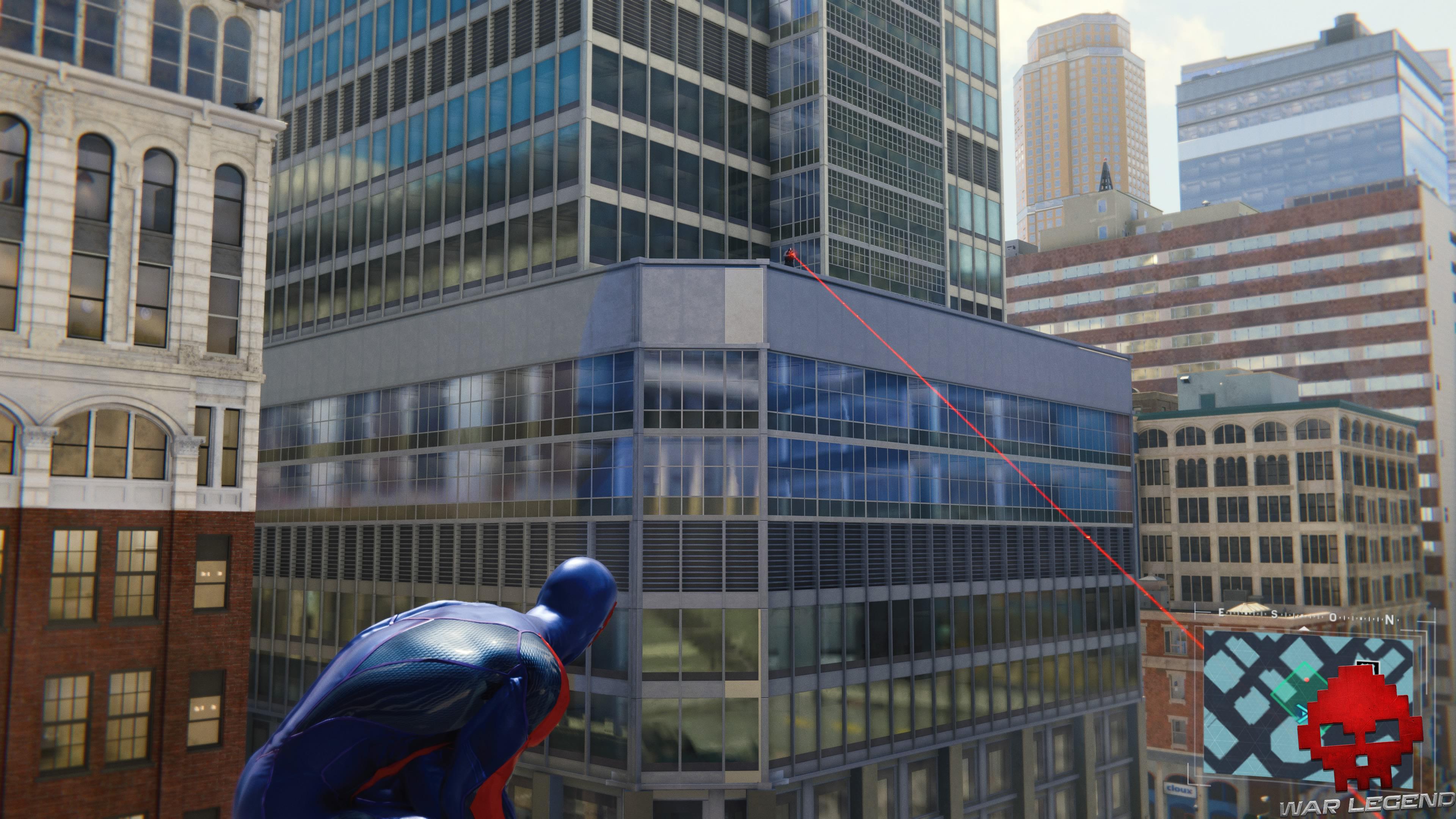 soluce spider-man chasse au sniper tireur d'élite en train de viser