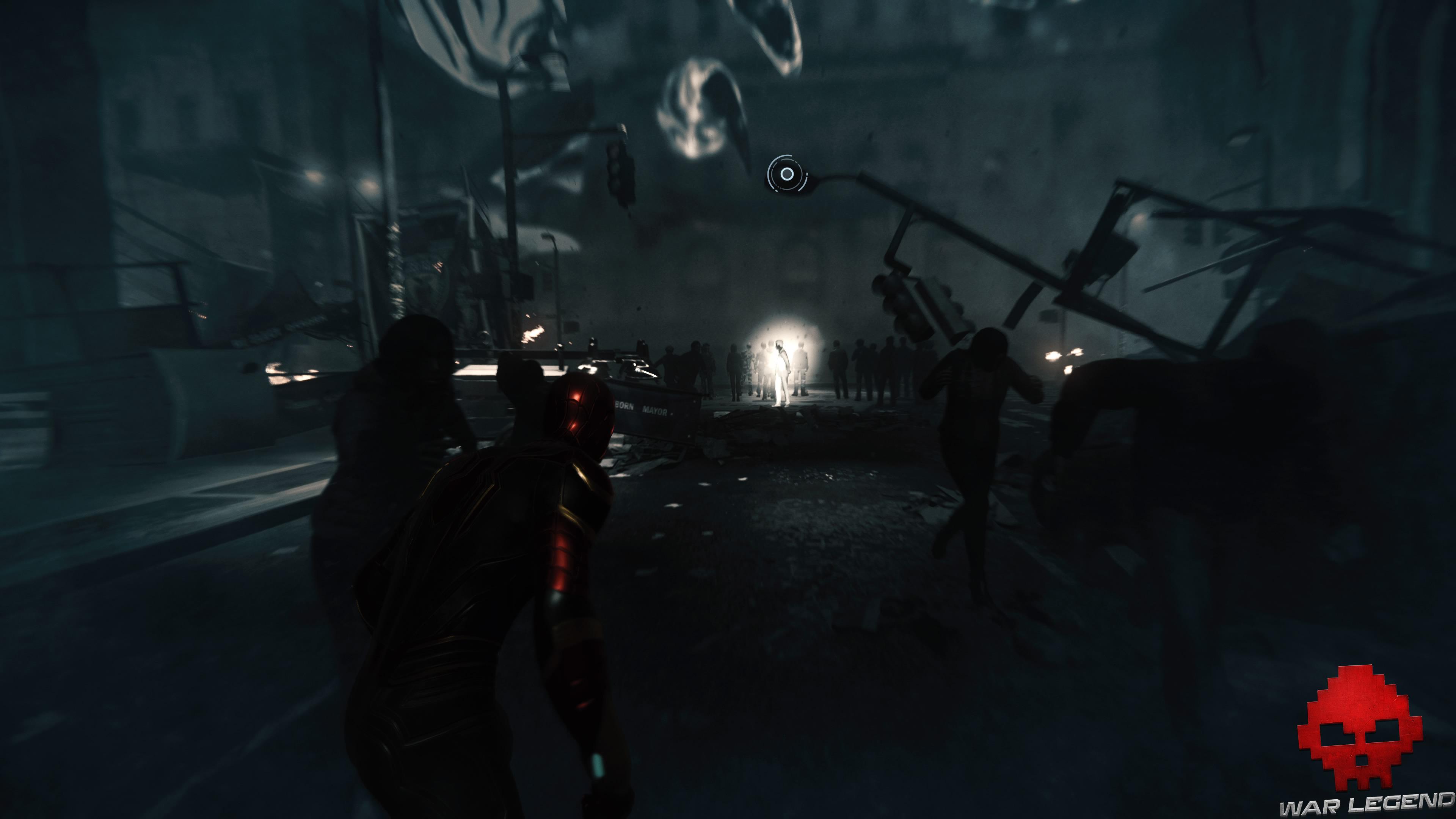 soluce spider-man collision imminente Mister Negative au milieu des ombres
