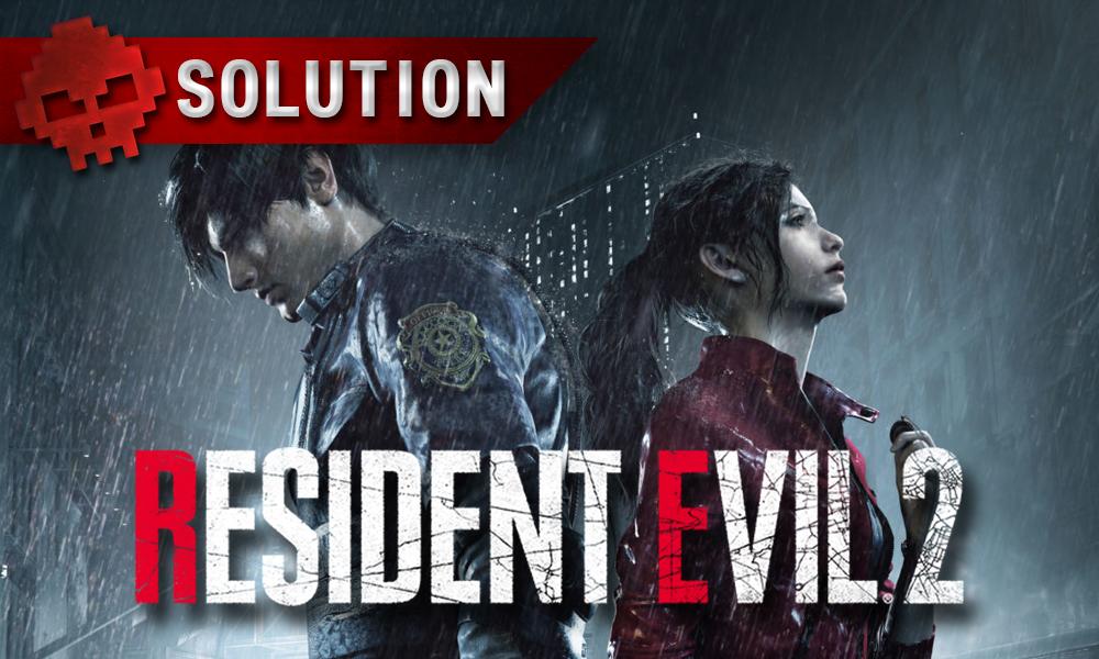 Soluce Resident Evil 2 – Les puzzles