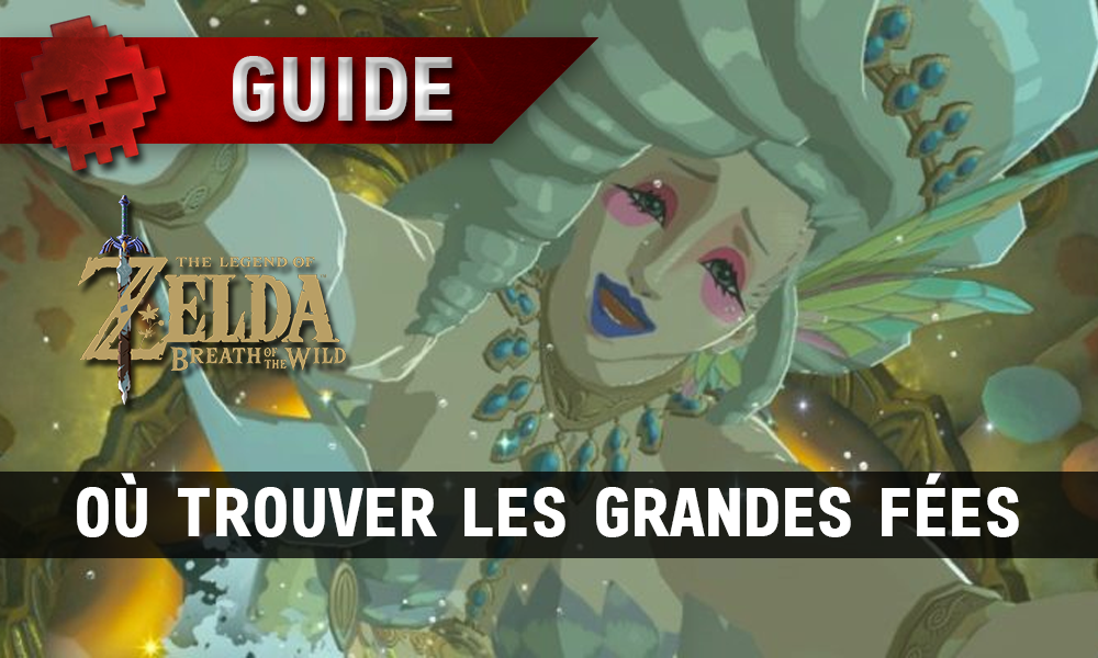Guide The Legend of Zelda: Breath of the Wild - Où trouver