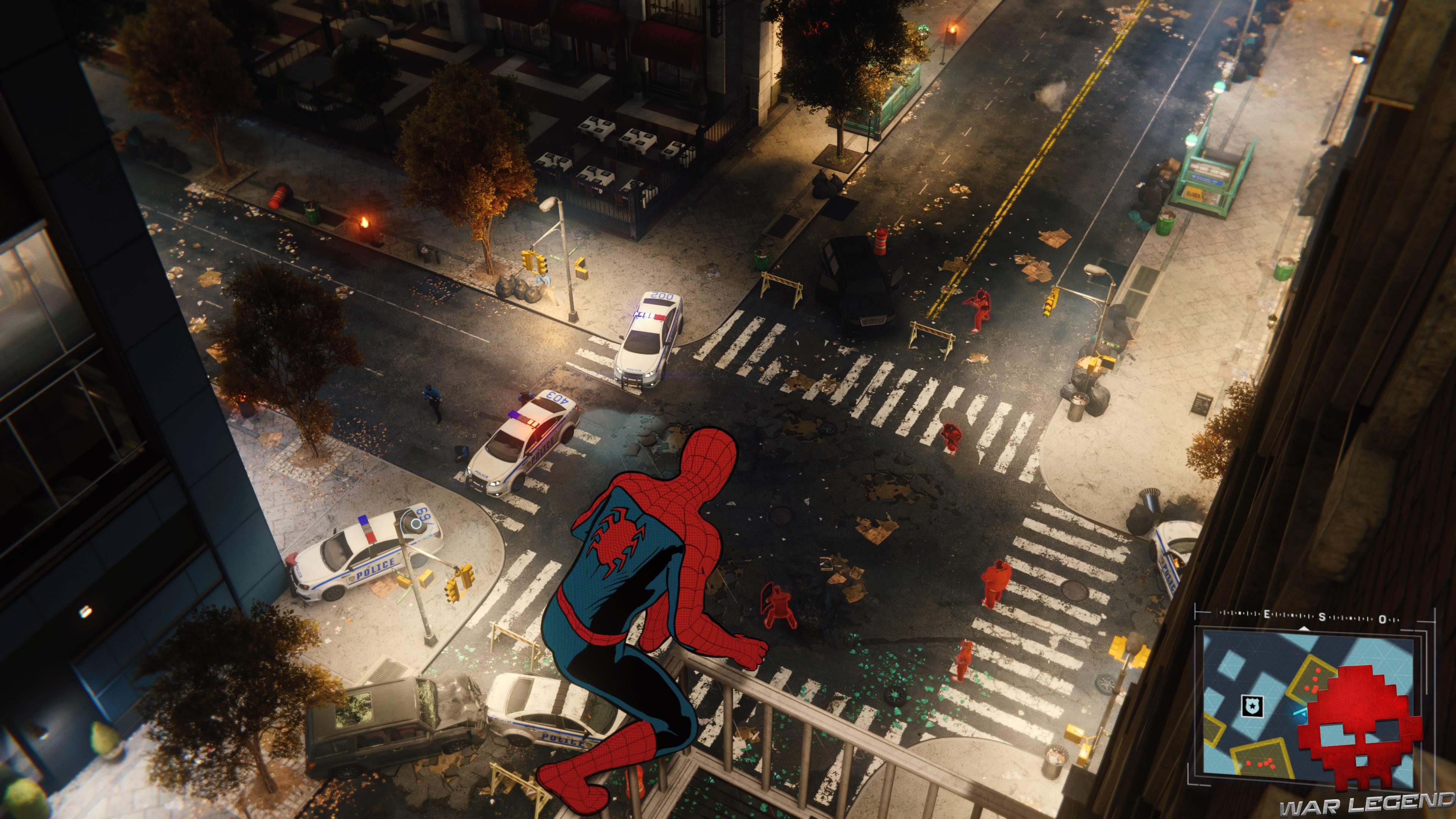 Solution spider-man en scylla - affrontement entre évadés et police