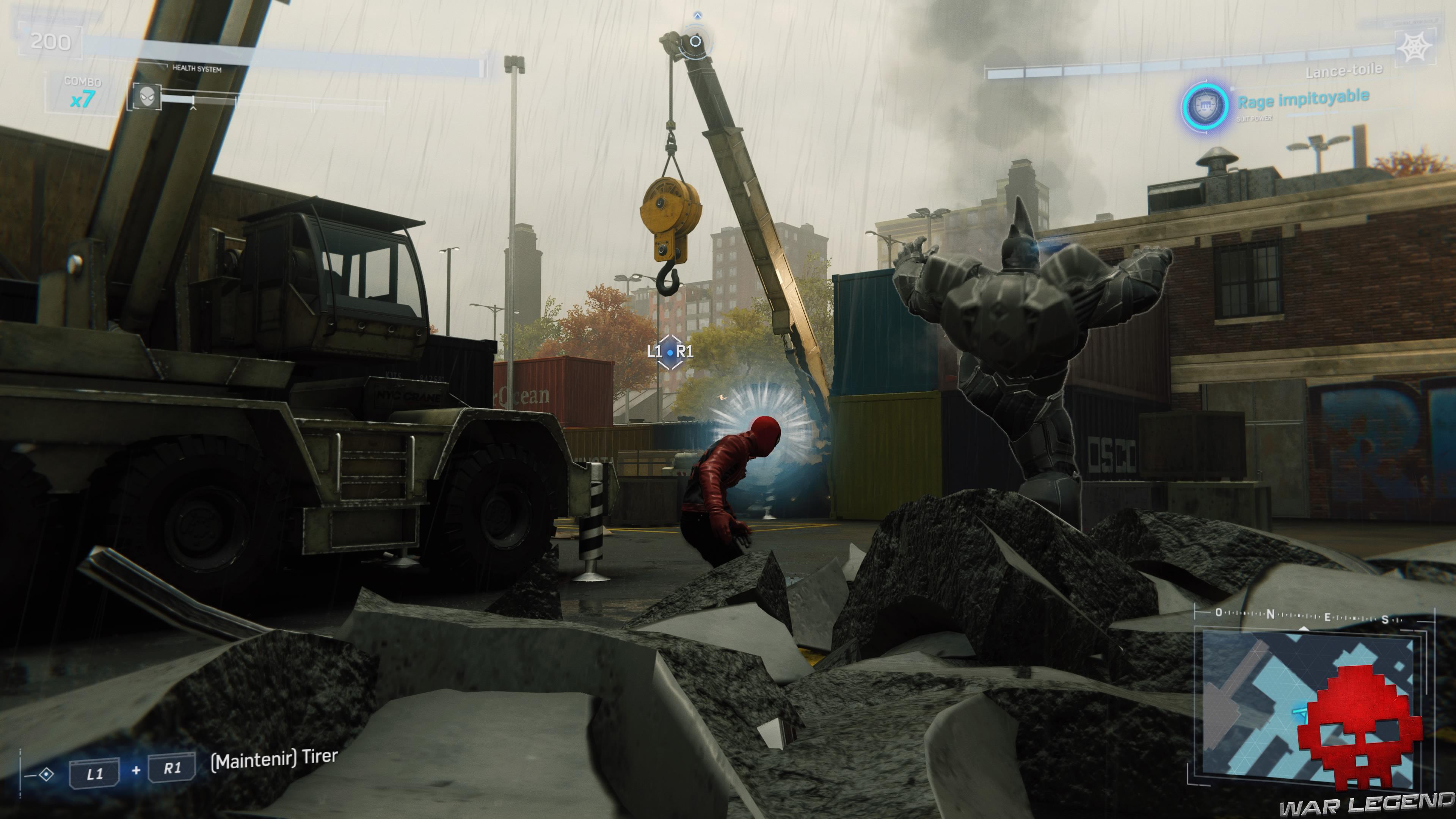 solution Spider-Man poids lourd