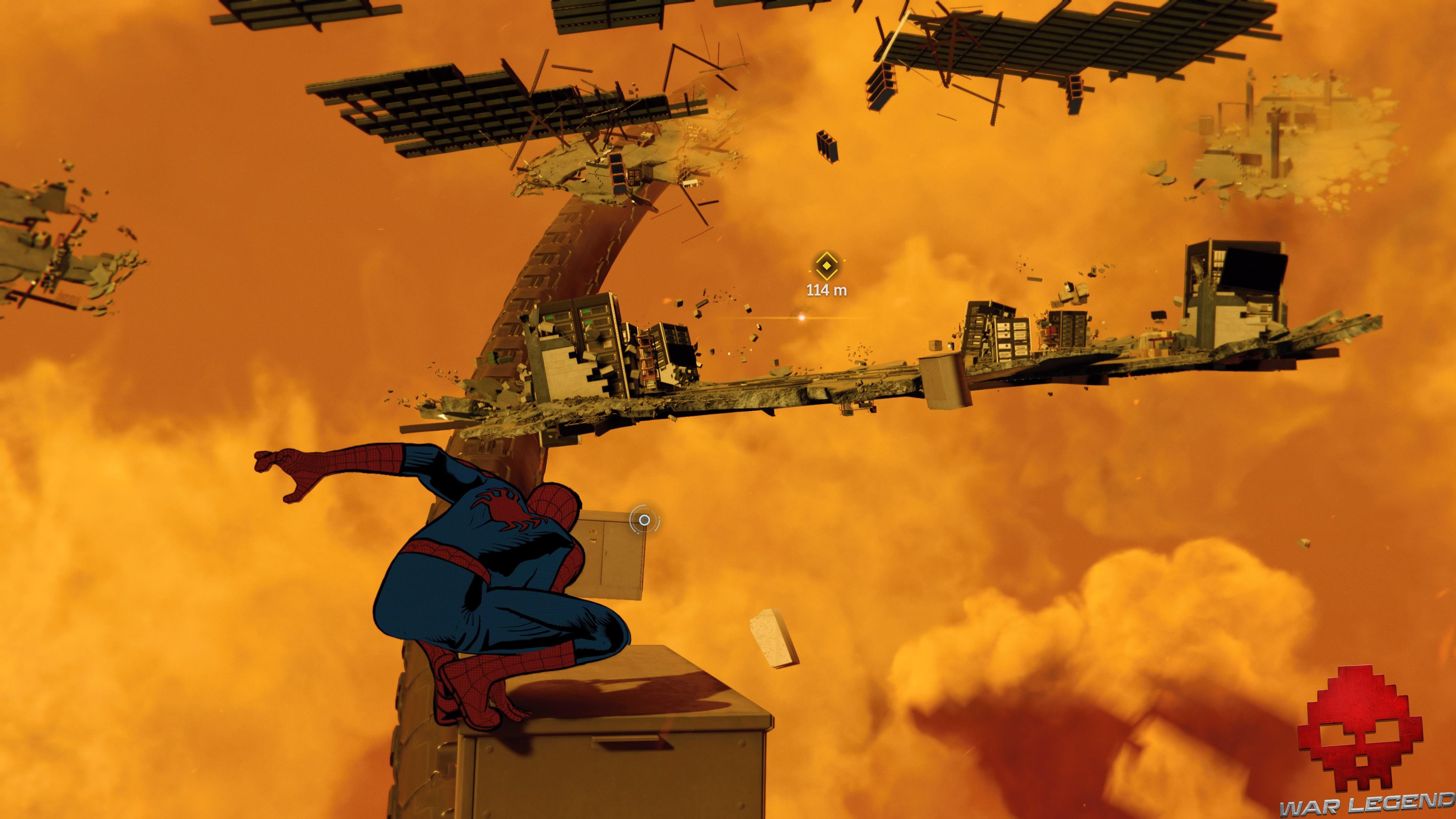 solution Spider-Man rues empoisonnées - monde cauchemardesque