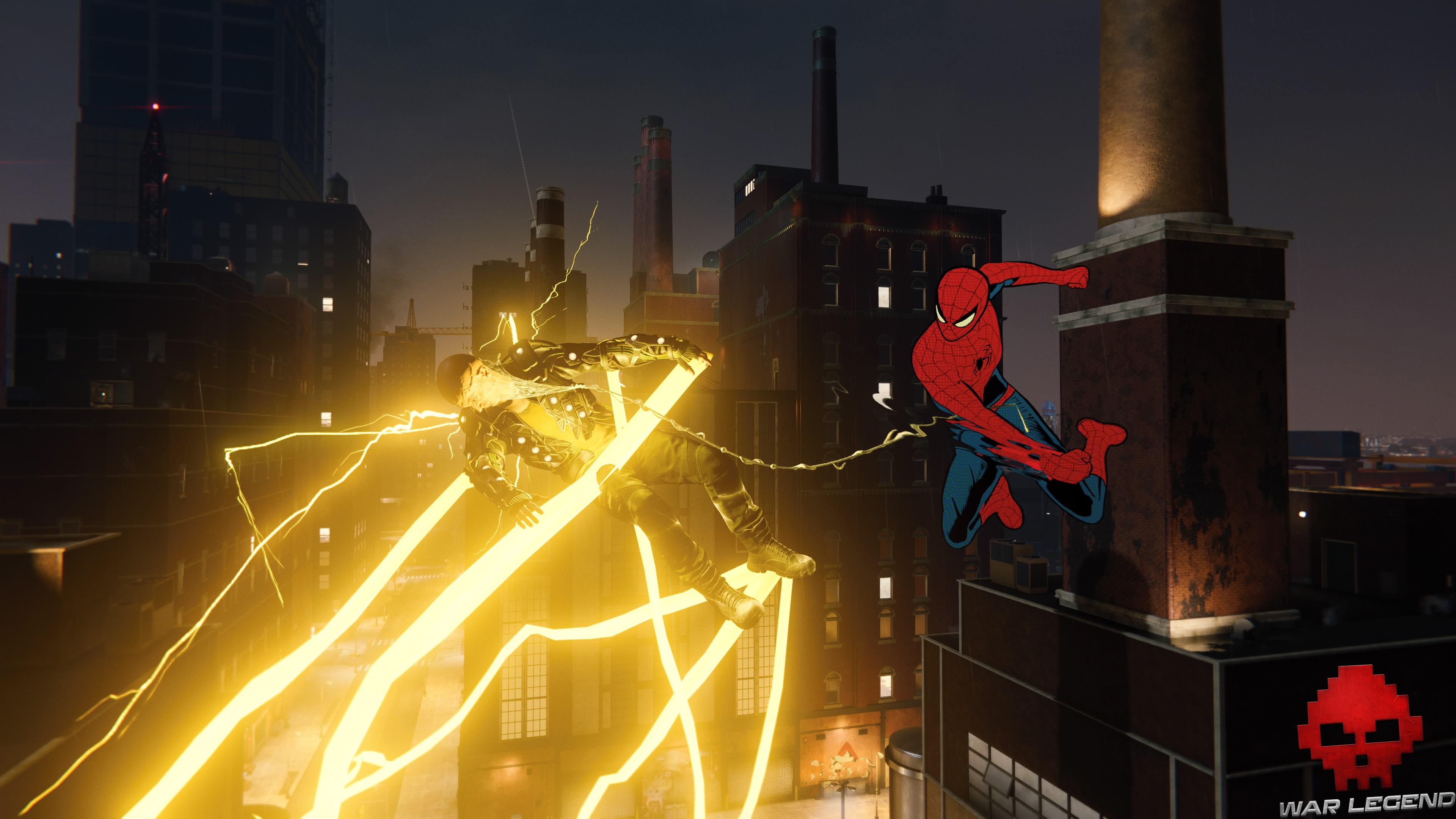 solution Spider-Man suivre la piste - combat contre electro
