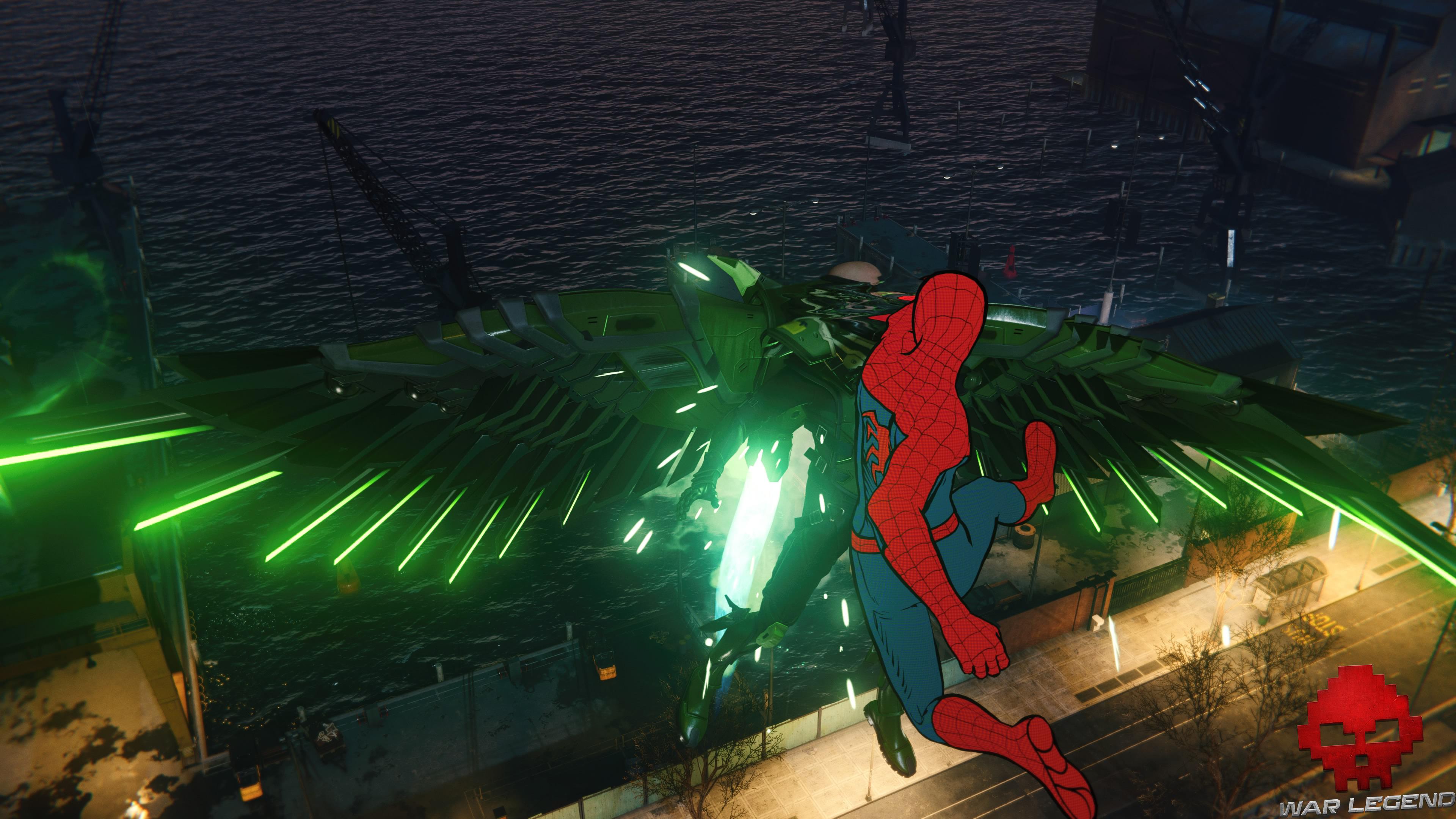 solution Spider-Man suivre la piste - combat contre Vulture