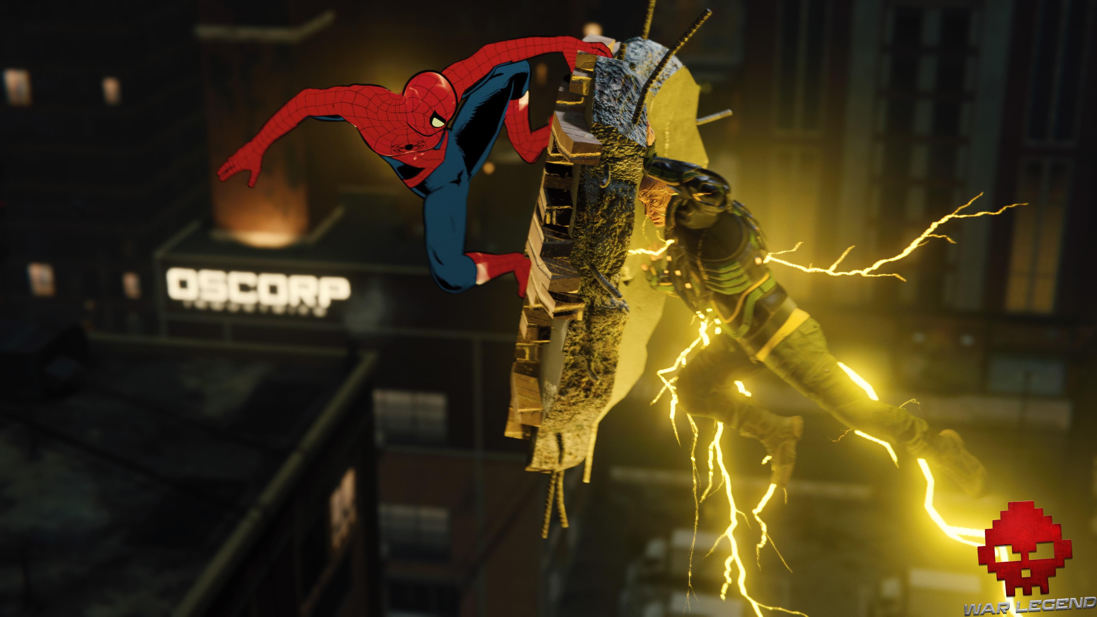 Test Spider-Man - Spider-Man contre Electro