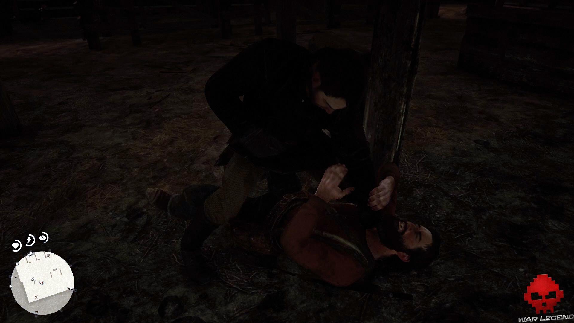 solution red dead redemption 2 jim milton remonte en selle john se bagarre avec un ennemi