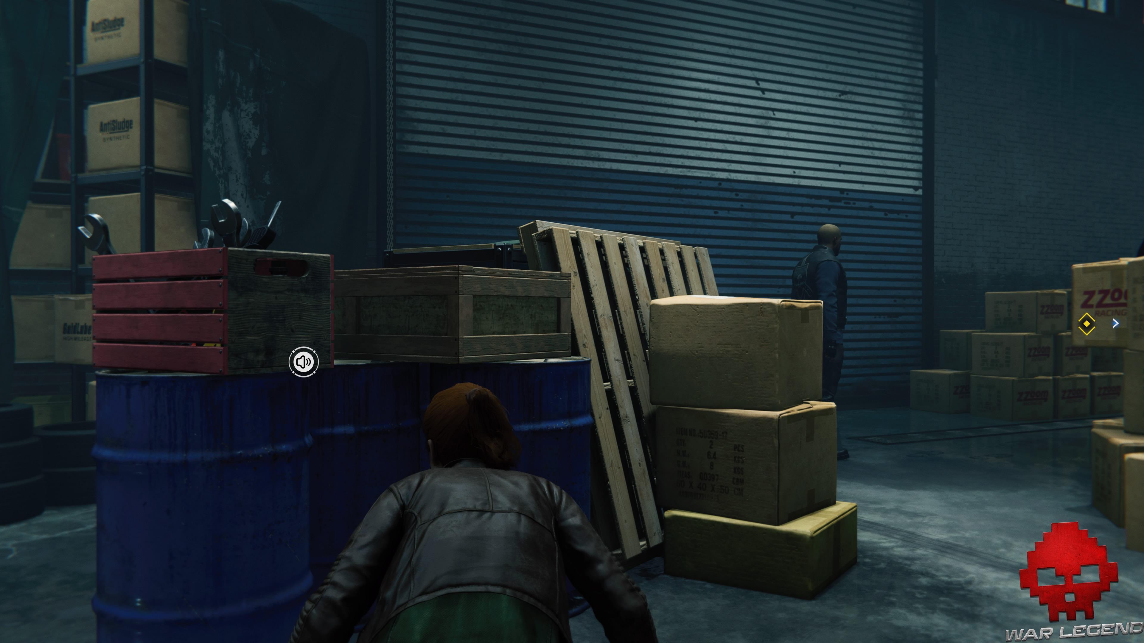 solution spider-man dîner aux chandelles ennemi derrière cartons