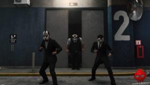 Test Spider-Man - Trois Démons sortent d'un ascenseur