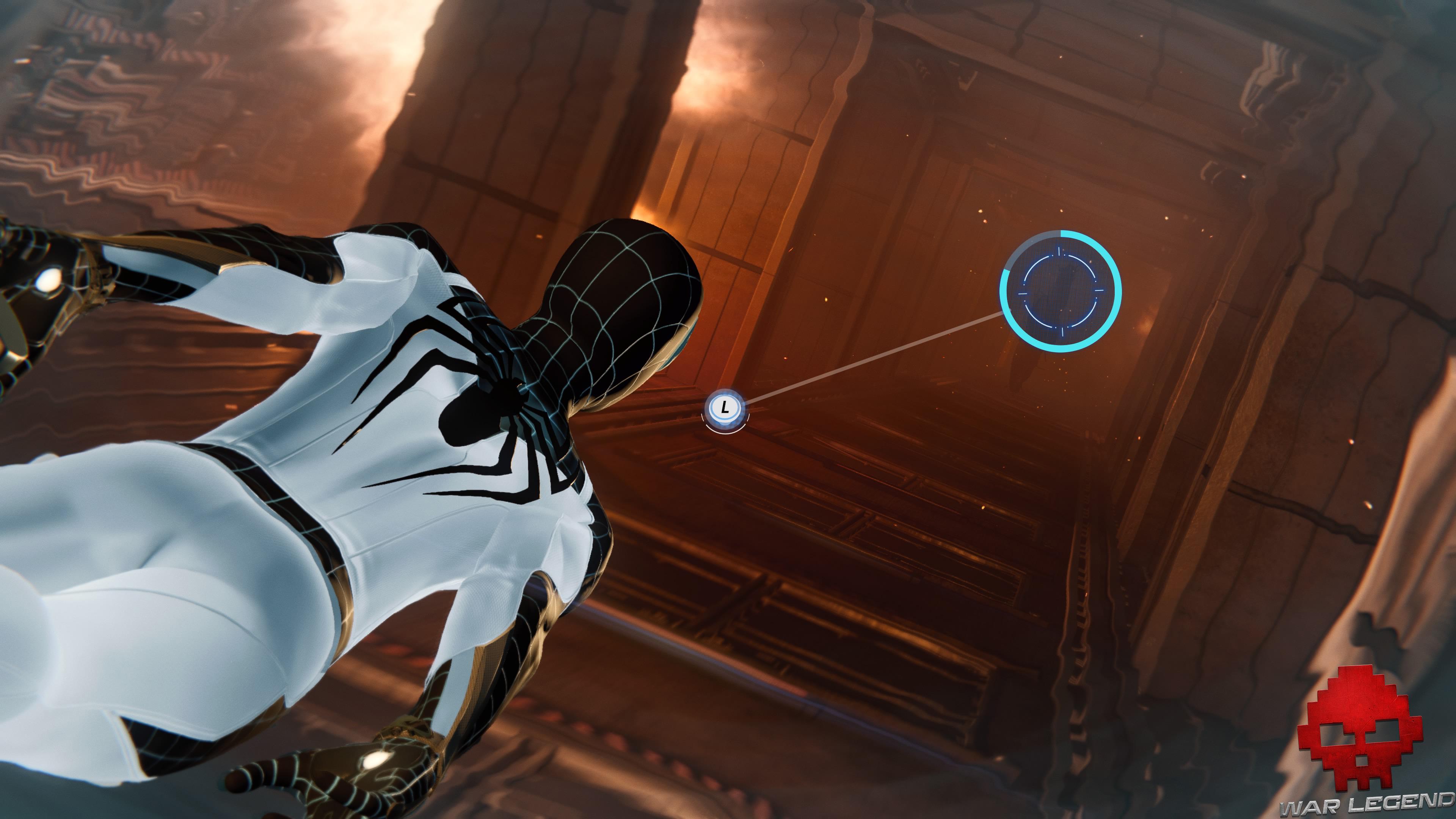 solution spider-man l'araignée et la gouttière QTE