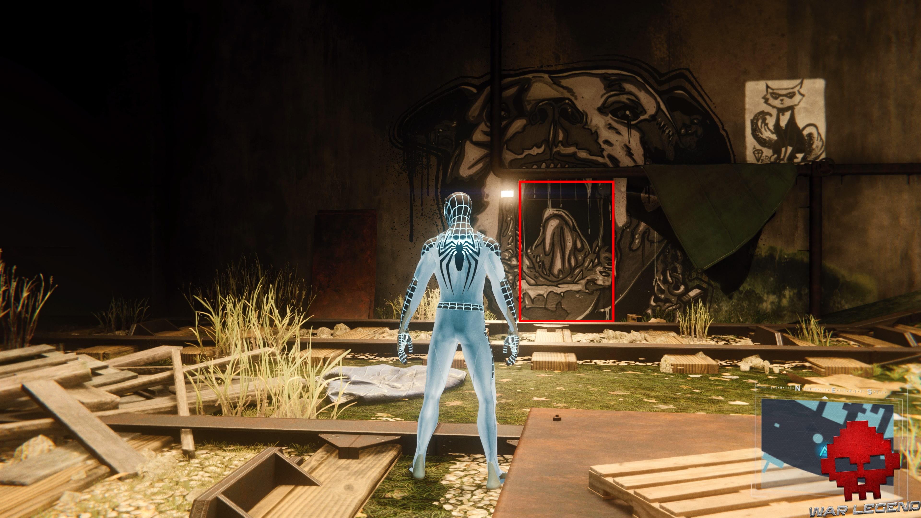Vignette solution spider-man panier du chat porte dérobée
