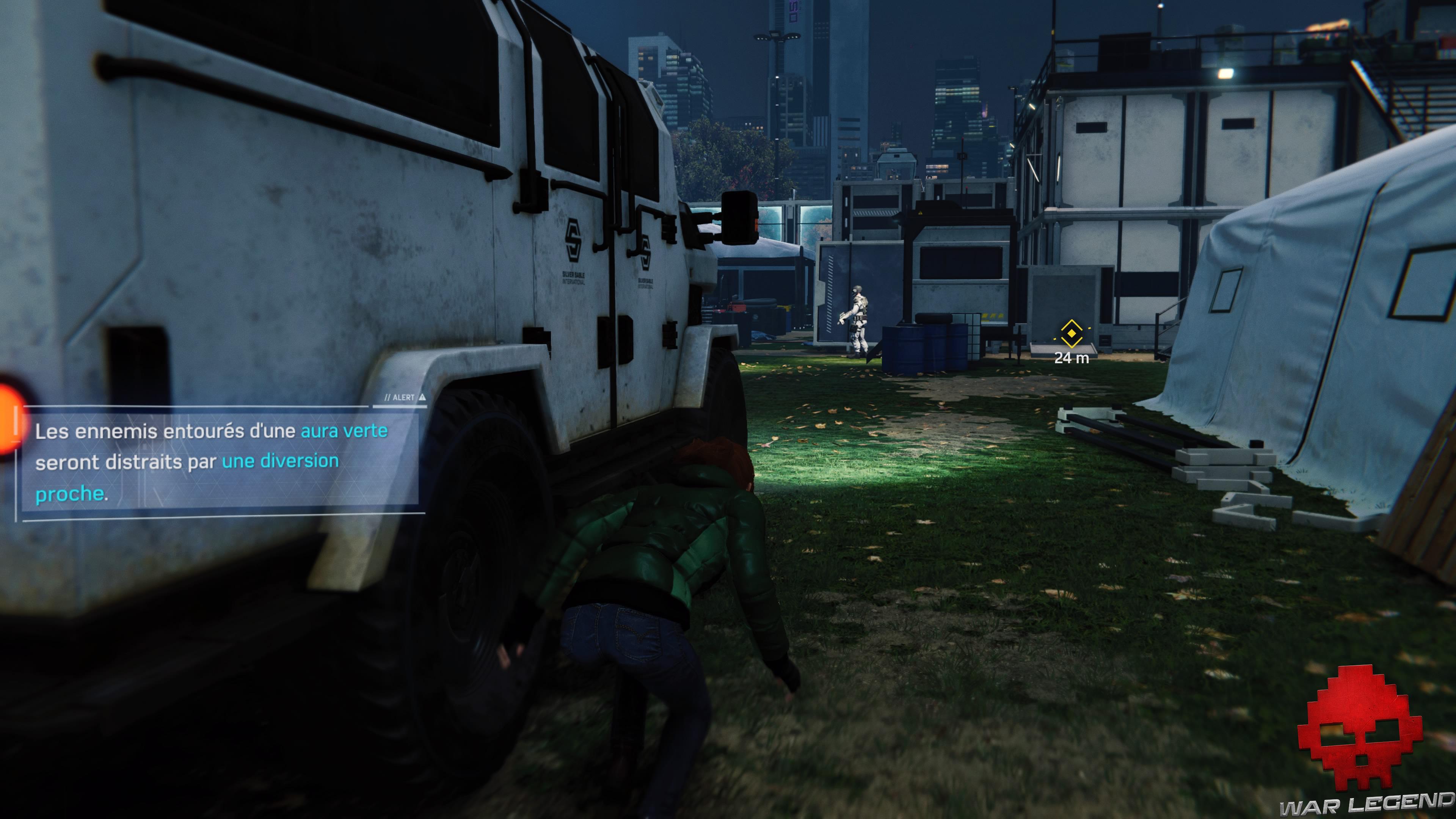 solution spider-man pas d'invitation MJ court le long d'une voiture