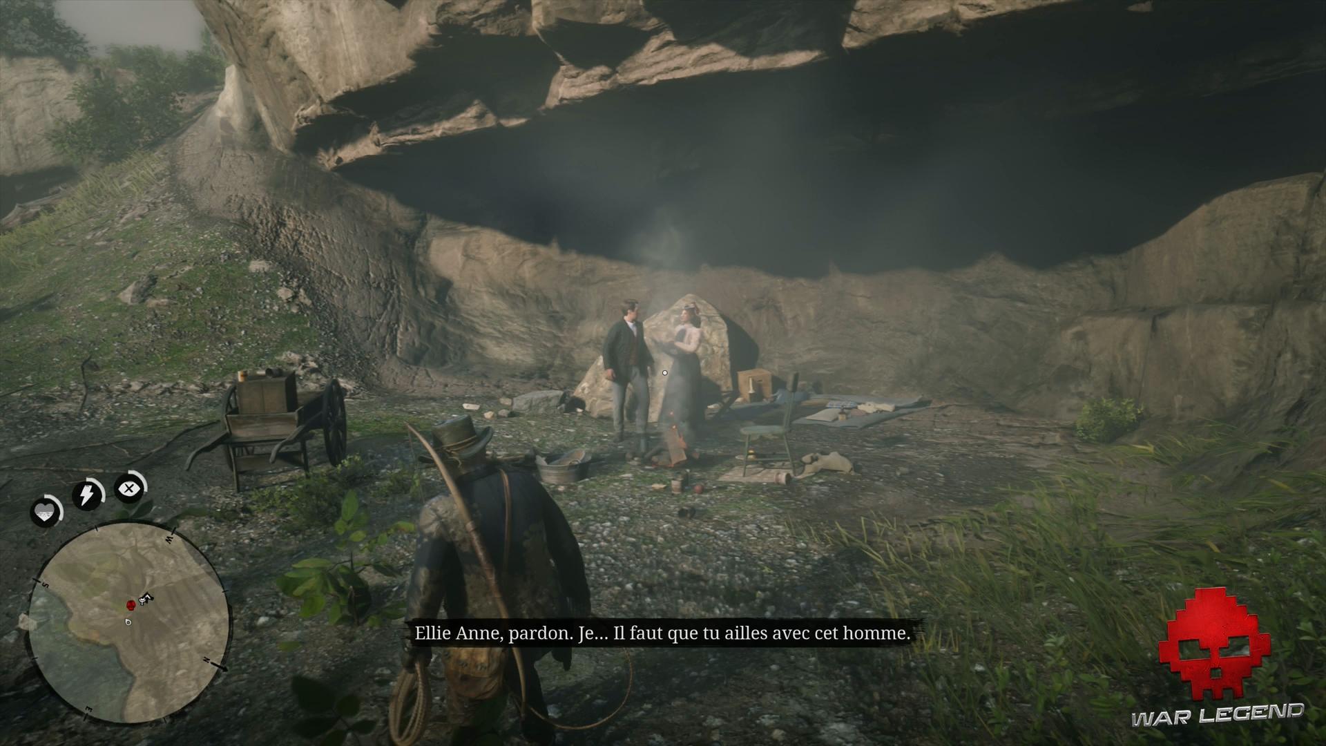 Soluce Red Dead Redemption 2 Ellie Anne Swan et son amant se disputent