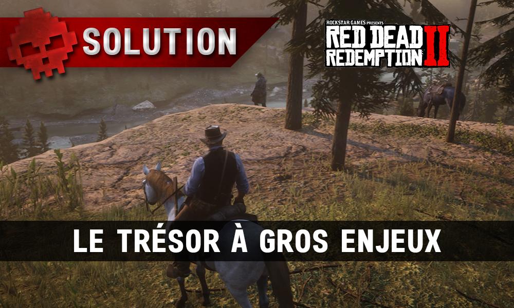 vignette Solution Red Dead Redemption 2 Le trésor à gros enjeux